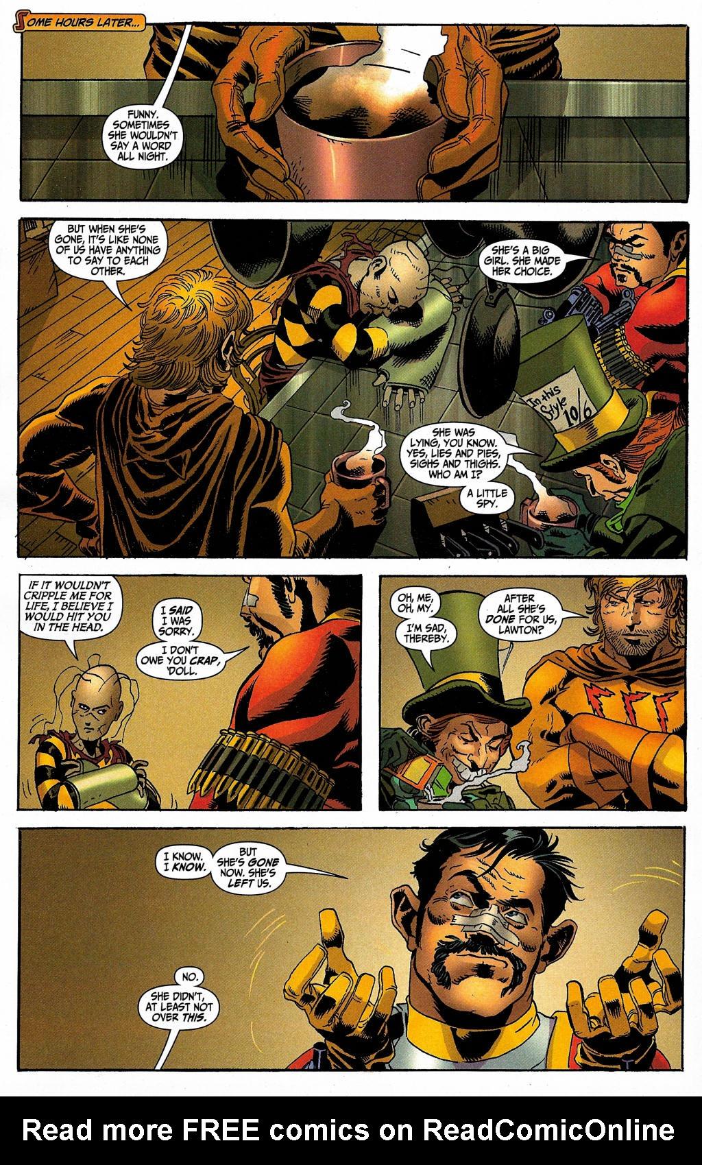 Read online Secret Six (2006) comic -  Issue #5 - 14