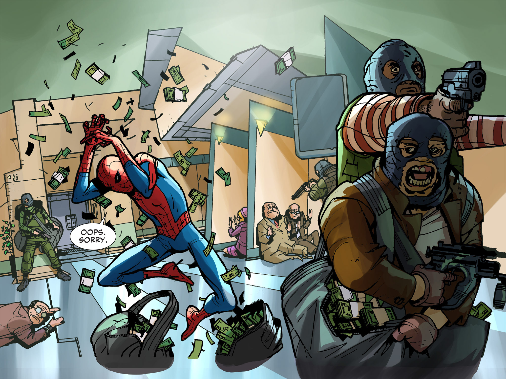 Read online Amazing Spider-Man: Who Am I? comic -  Issue # Full (Part 1) - 11