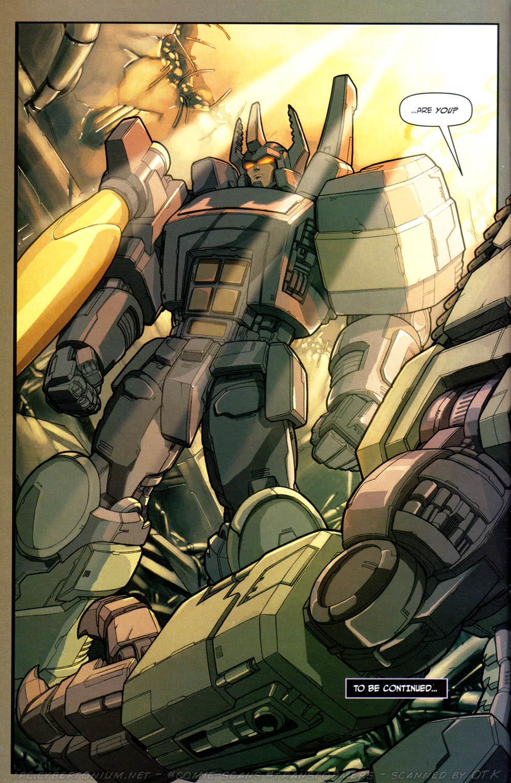 Read online Transformers Armada comic -  Issue #15 - 23