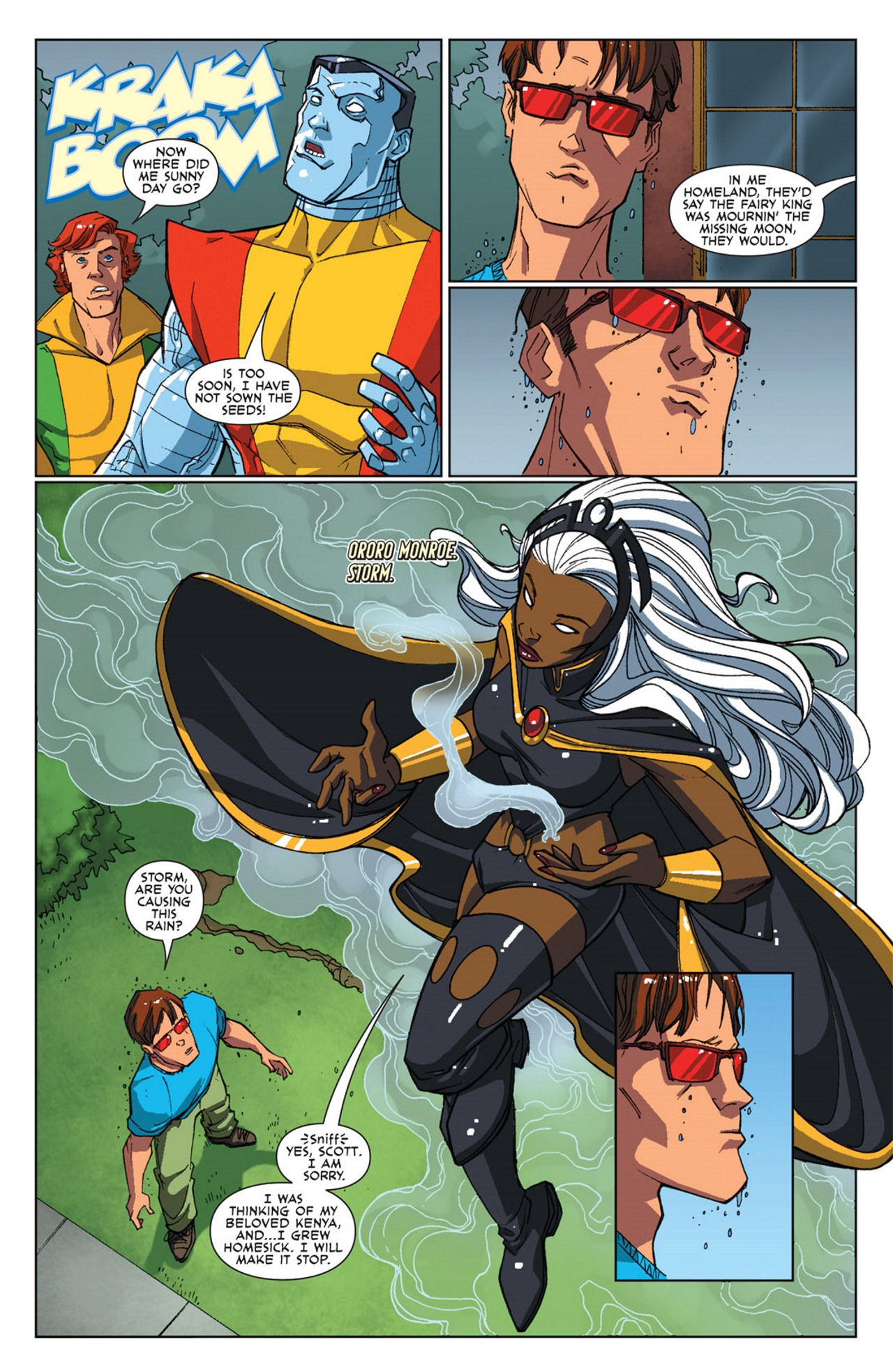 Read online Uncanny X-Men: First Class Giant-Size Special comic -  Issue # Full - 7