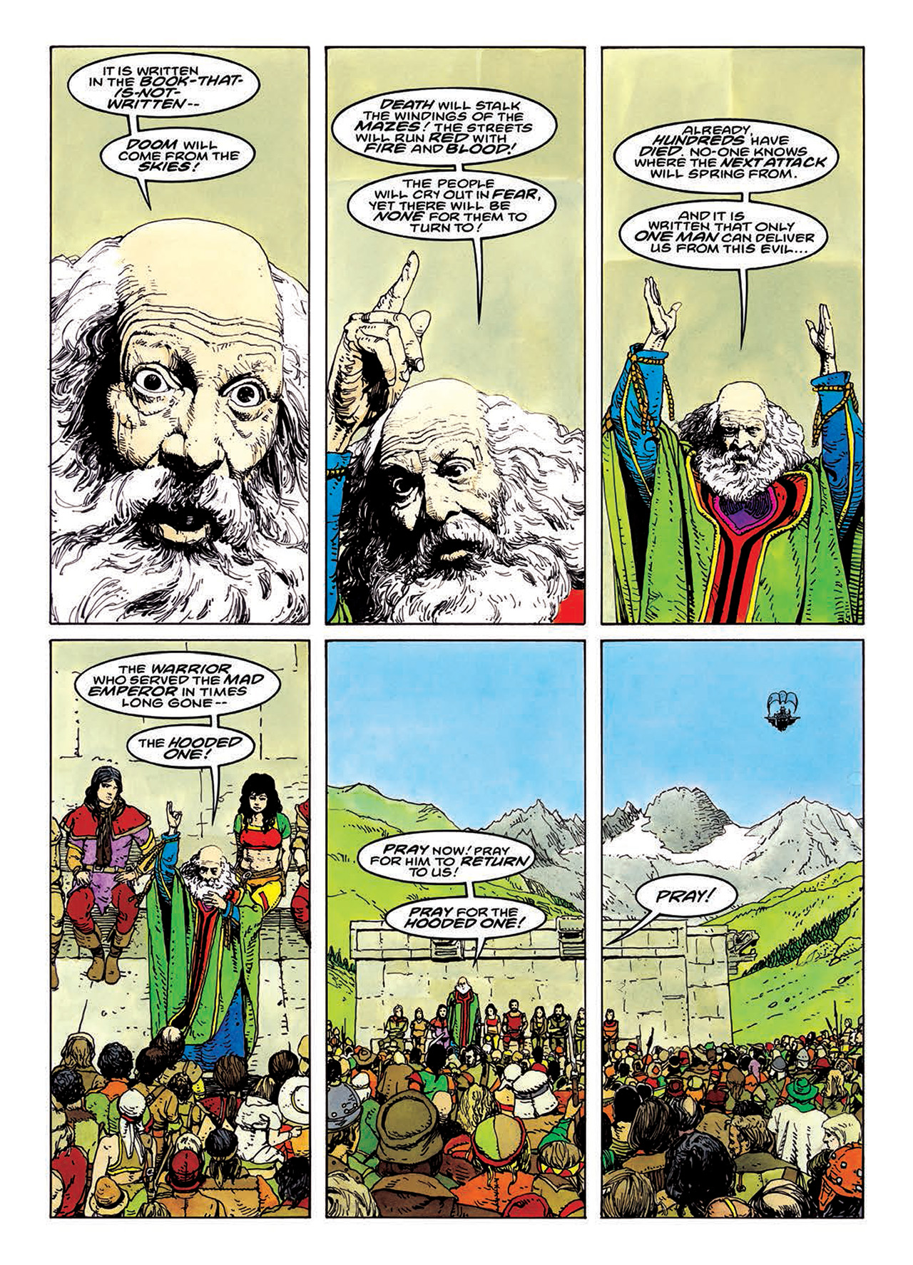 Read online Mazeworld comic -  Issue # TPB - 130