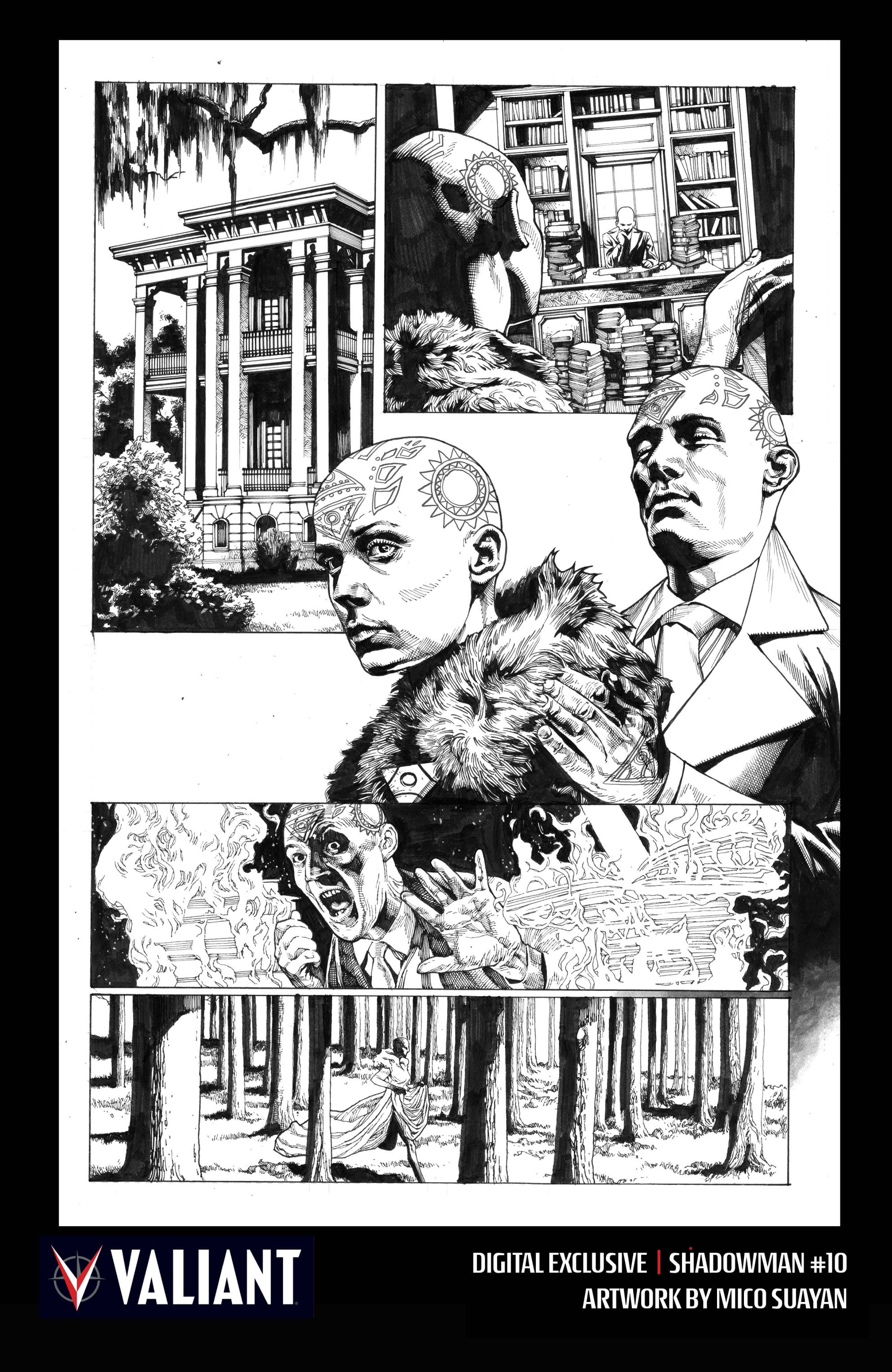 Read online Shadowman (2012) comic -  Issue #10 - 33