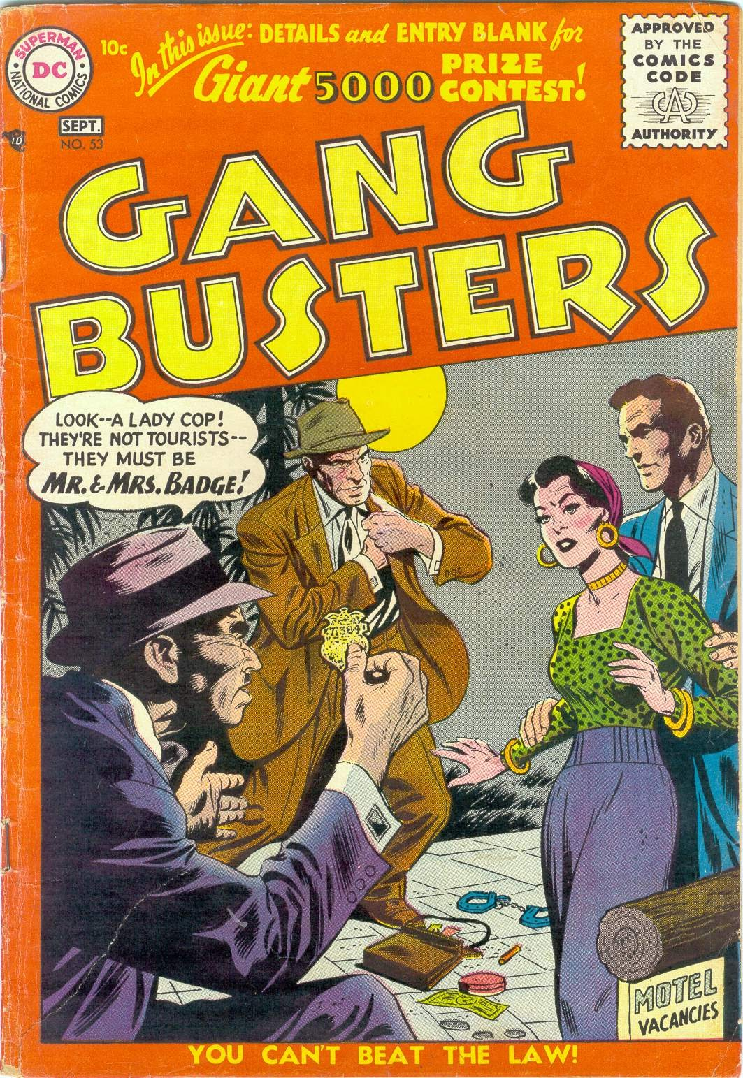 Gang Busters issue 53 - Page 1