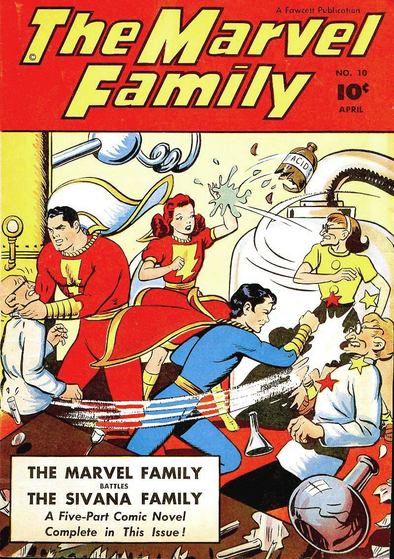 The Marvel Family 10 Page 1
