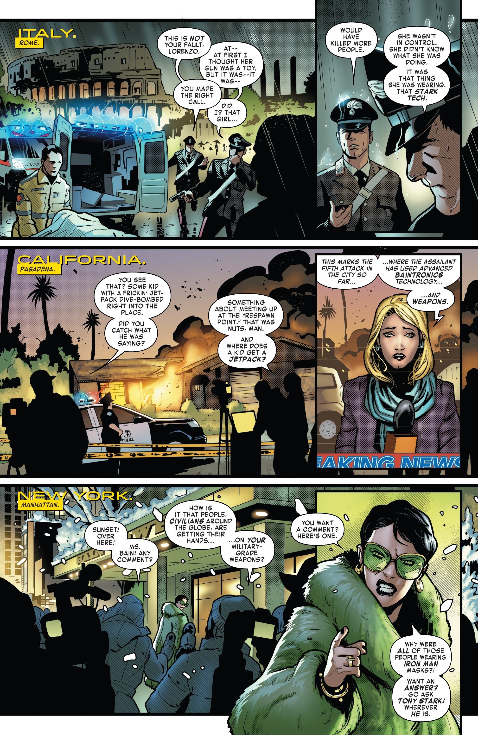 Read online Tony Stark: Iron Man comic -  Issue #8 - 4