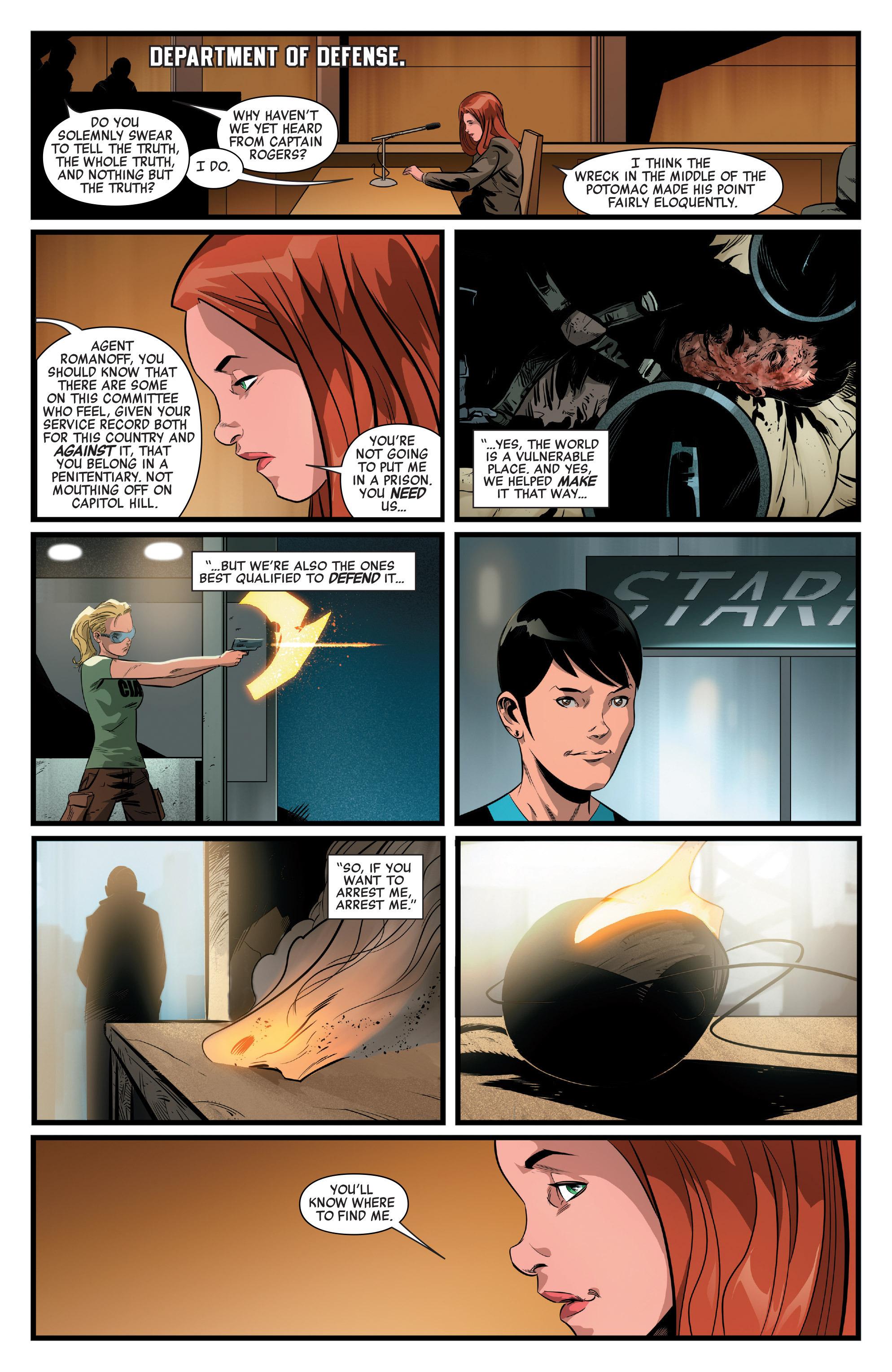 Read online Captain America: Civil War Prelude comic -  Issue #4 - 21