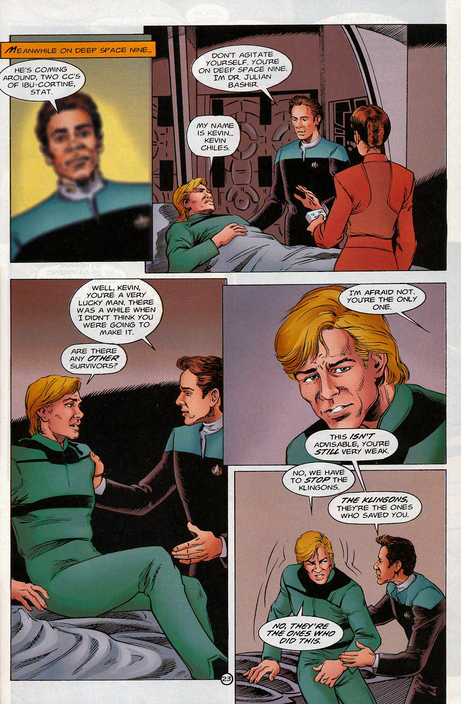 Read online Star Trek: Deep Space Nine - Lightstorm comic -  Issue # Full - 23