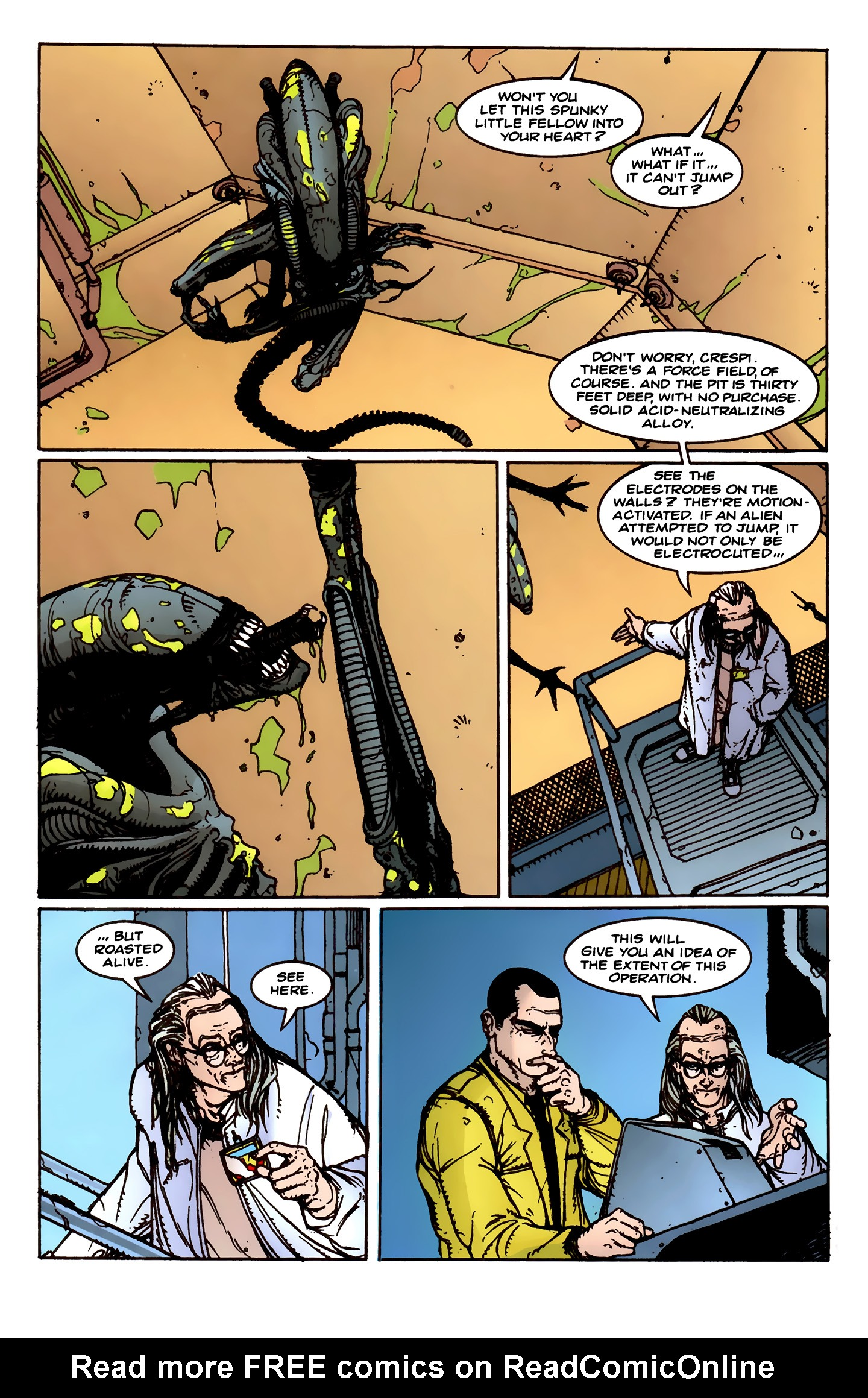 Read online Aliens: Labyrinth comic -  Issue #1 - 13