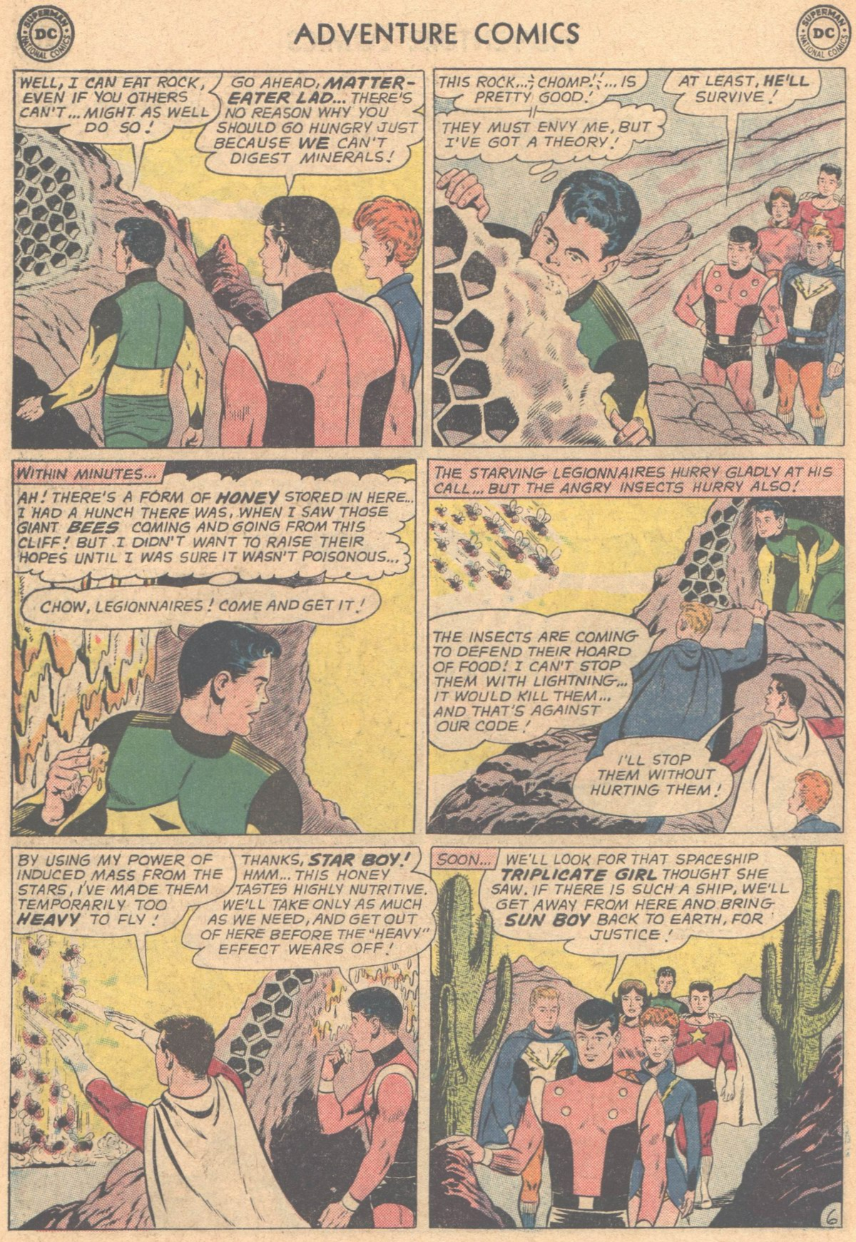Read online Adventure Comics (1938) comic -  Issue #318 - 18