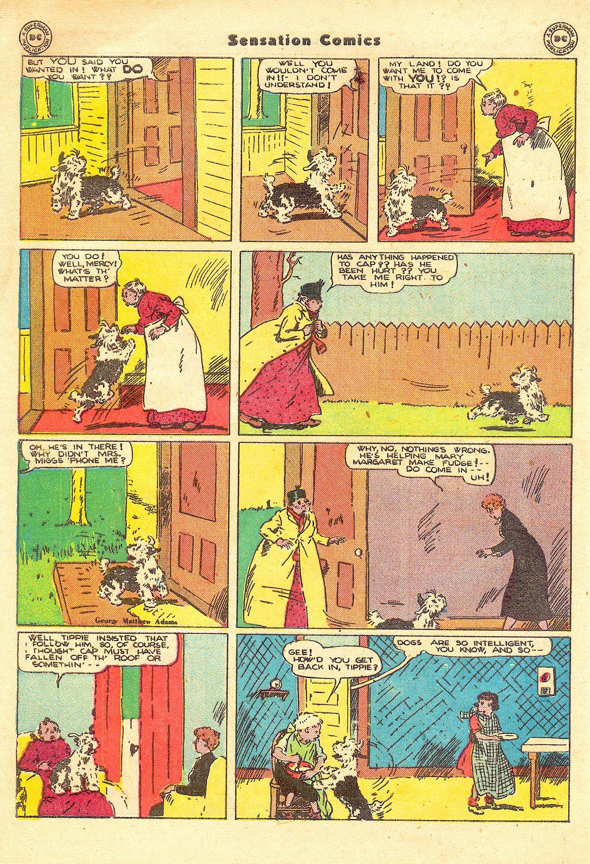 Read online Sensation (Mystery) Comics comic -  Issue #57 - 40