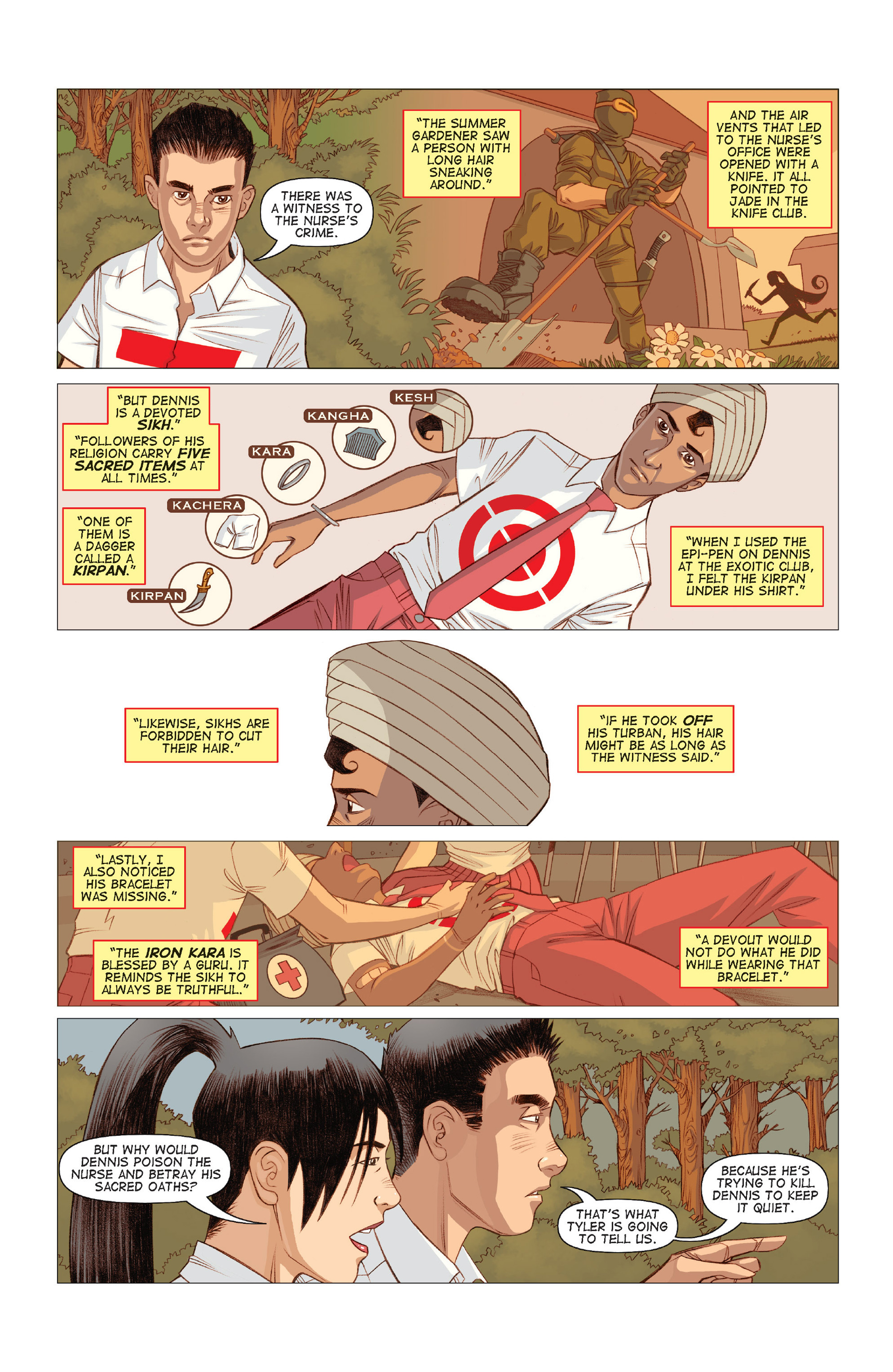 Read online Five Weapons comic -  Issue #9 - 13