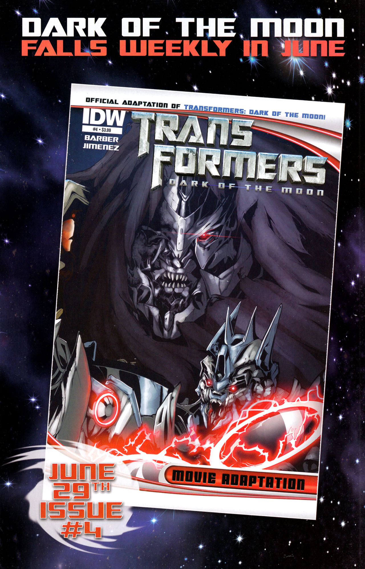Read online Transformers: Dark of the Moon Movie Adaptation comic -  Issue #3 - 25