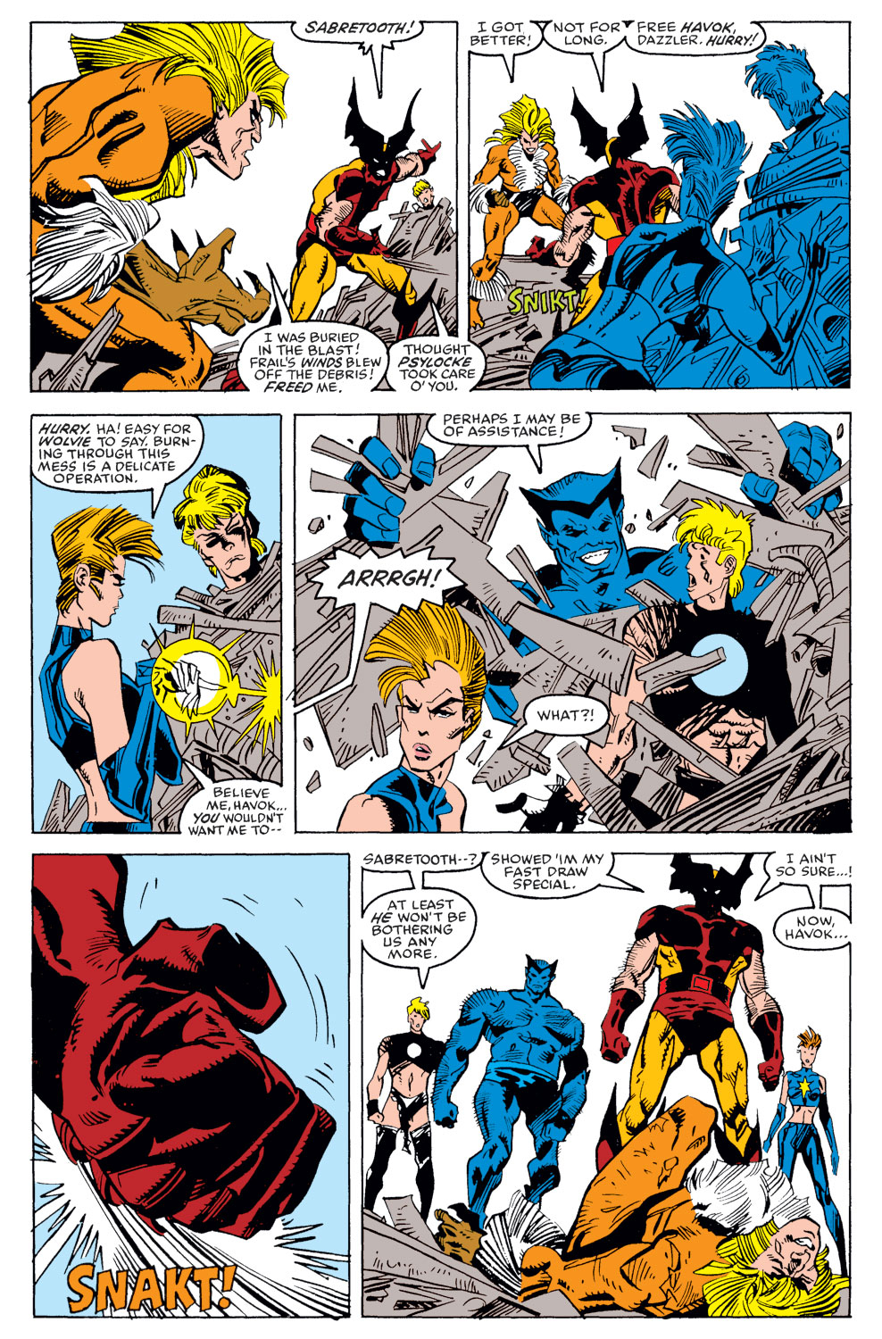 Read online X-Factor (1986) comic -  Issue #39 - 19