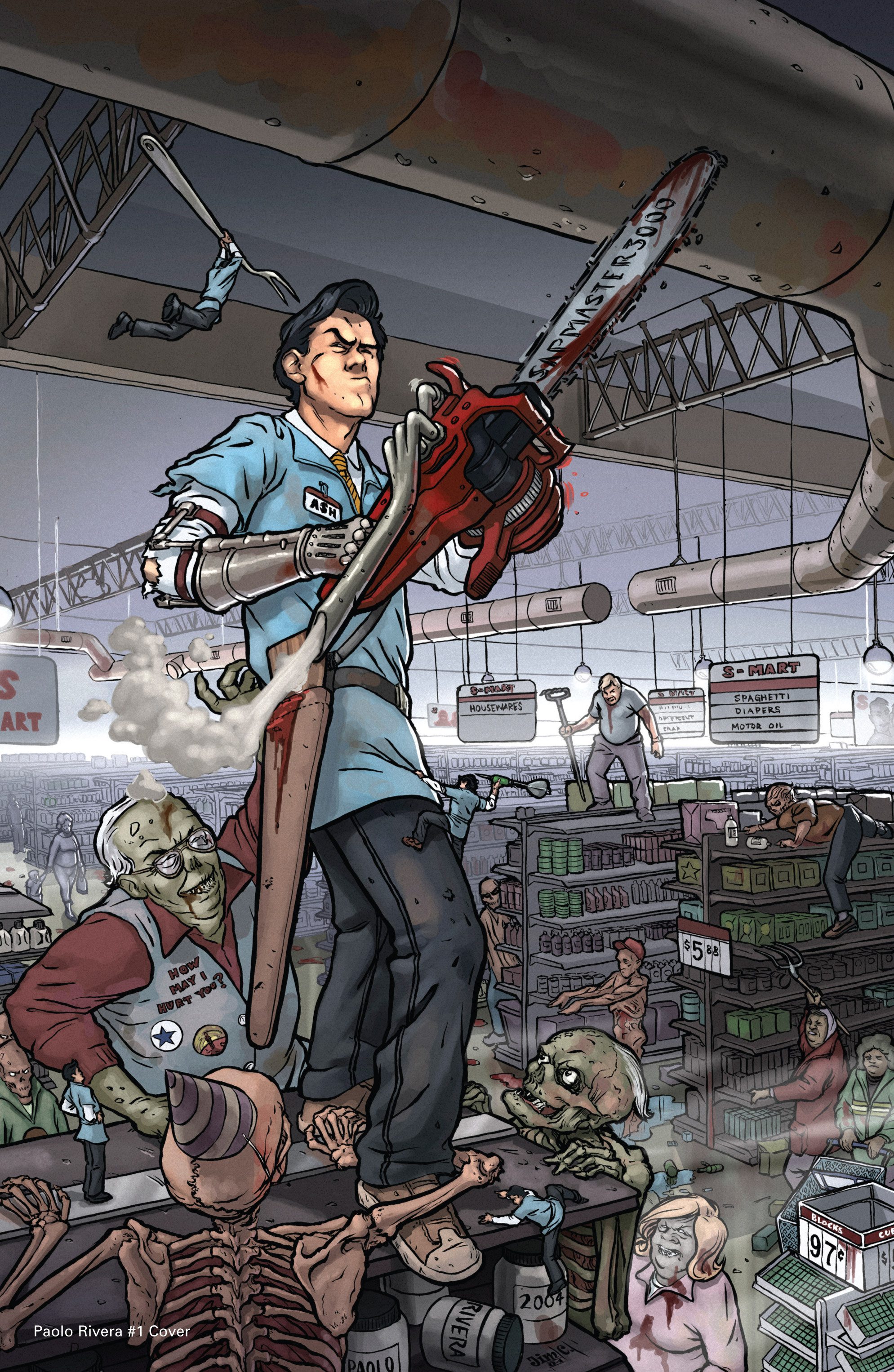 Read online Army of Darkness: Shop Till You Drop Dead comic -  Issue #Army of Darkness: Shop Till You Drop Dead TPB - 112