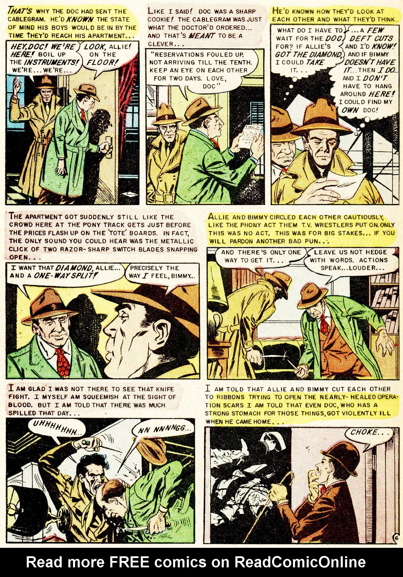 Read online Shock SuspenStories comic -  Issue #17 - 32