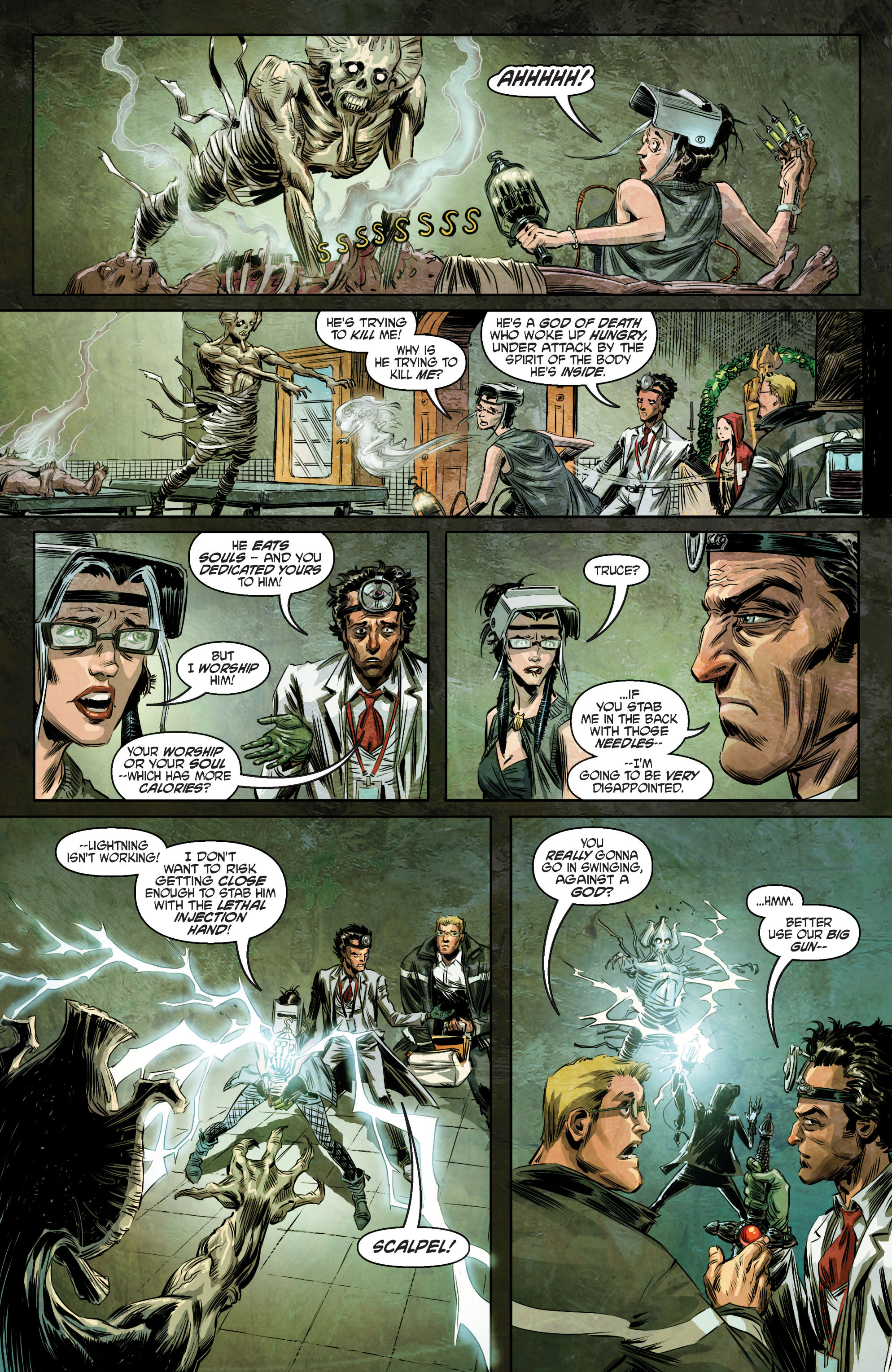 Witch Doctor: The Resuscitation #Full - Read Witch Doctor: The