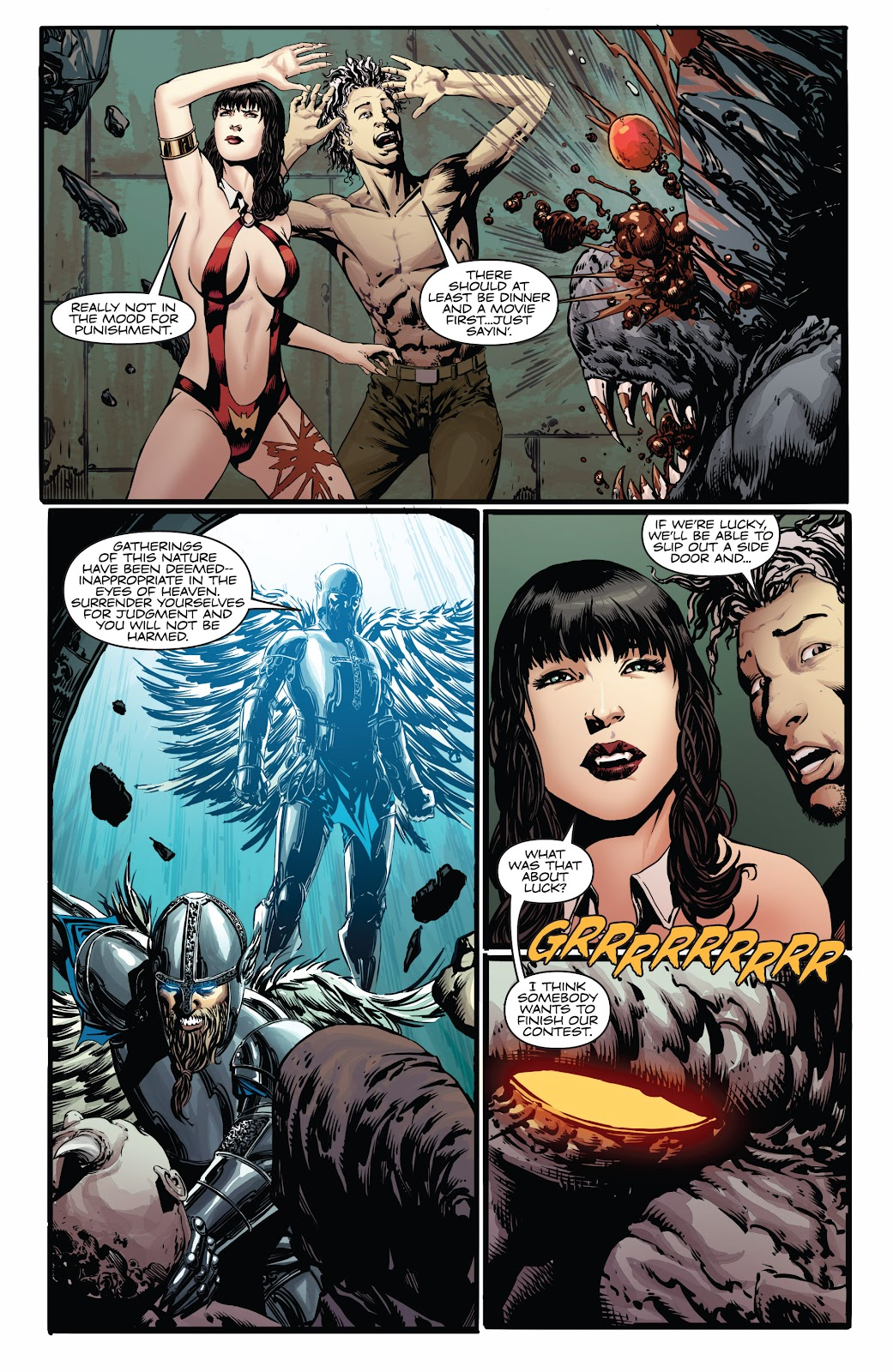 Read online Vampirella Strikes comic -  Issue #4 - 12