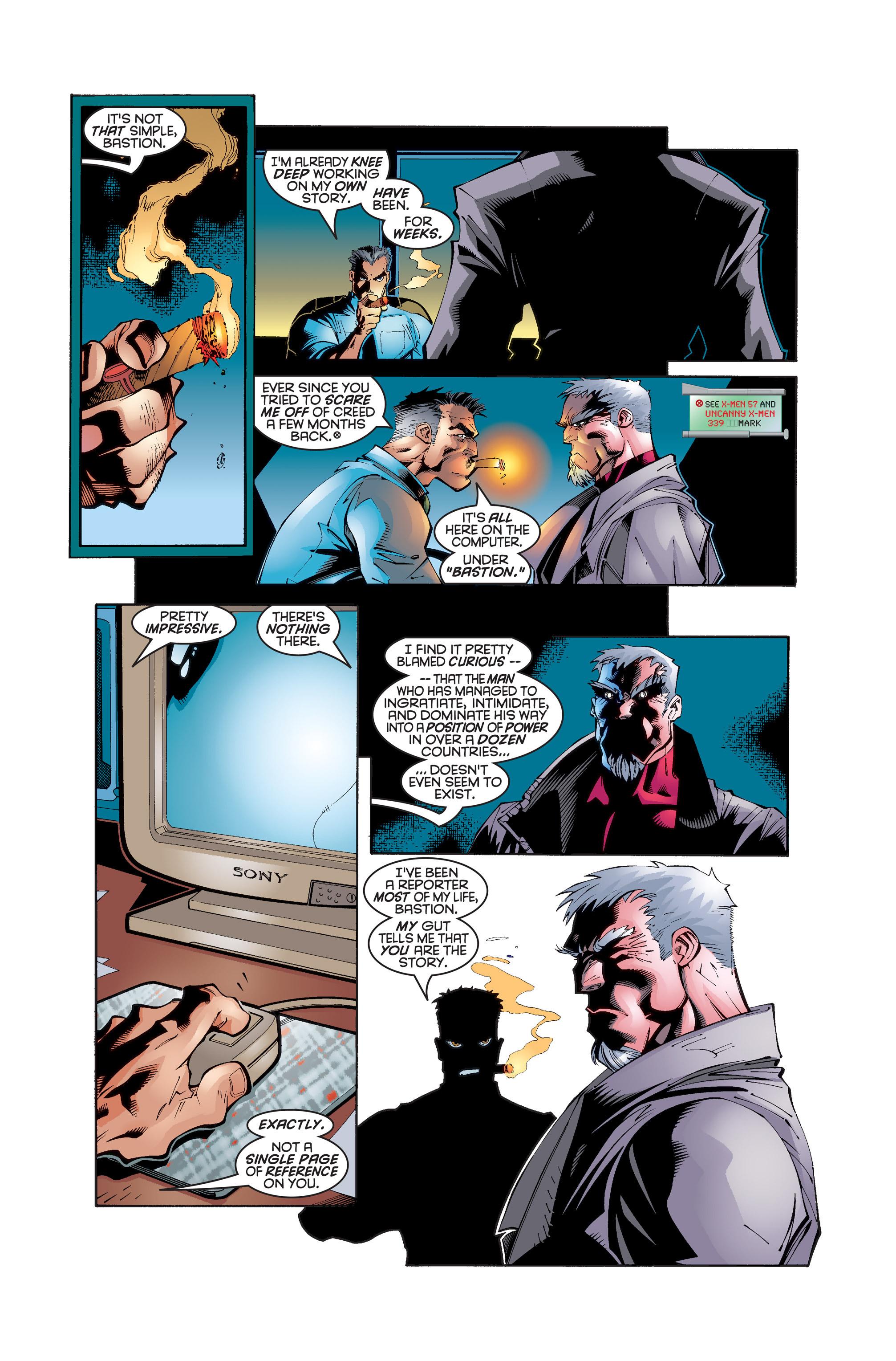 Read online Uncanny X-Men (1963) comic -  Issue #346 - 20