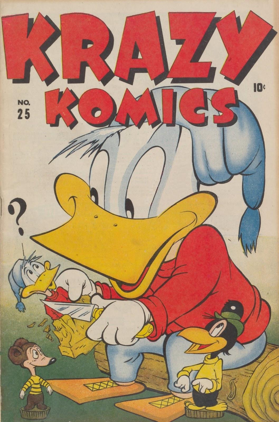 Krazy Komics issue 25 - Page 1