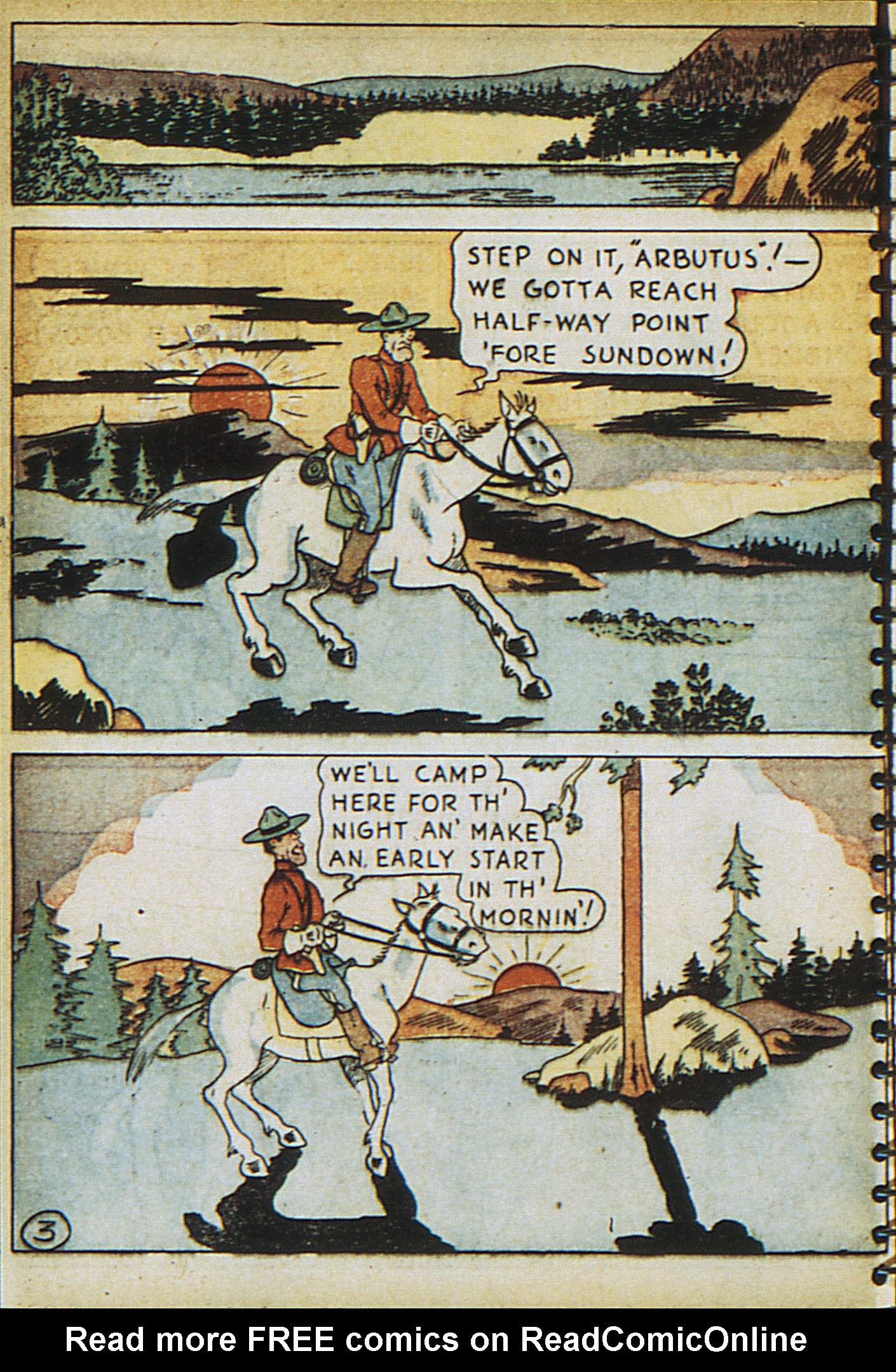 Read online Adventure Comics (1938) comic -  Issue #23 - 38