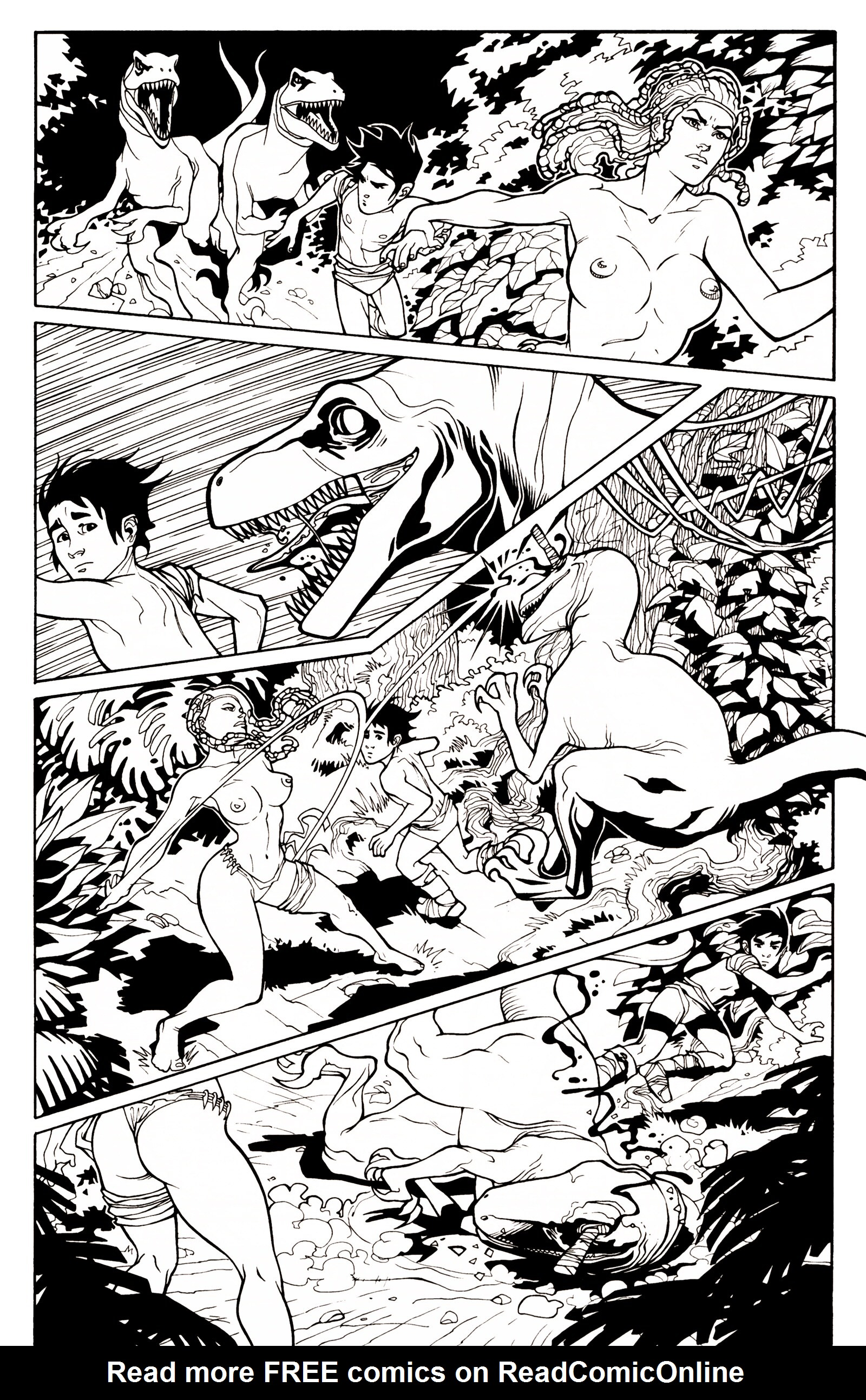 Read online Jungle Fantasy (2002) comic -  Issue # _Annual 1 - 7