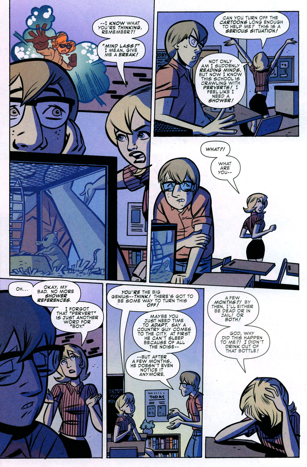 Read online Bad Girls comic -  Issue #3 - 4