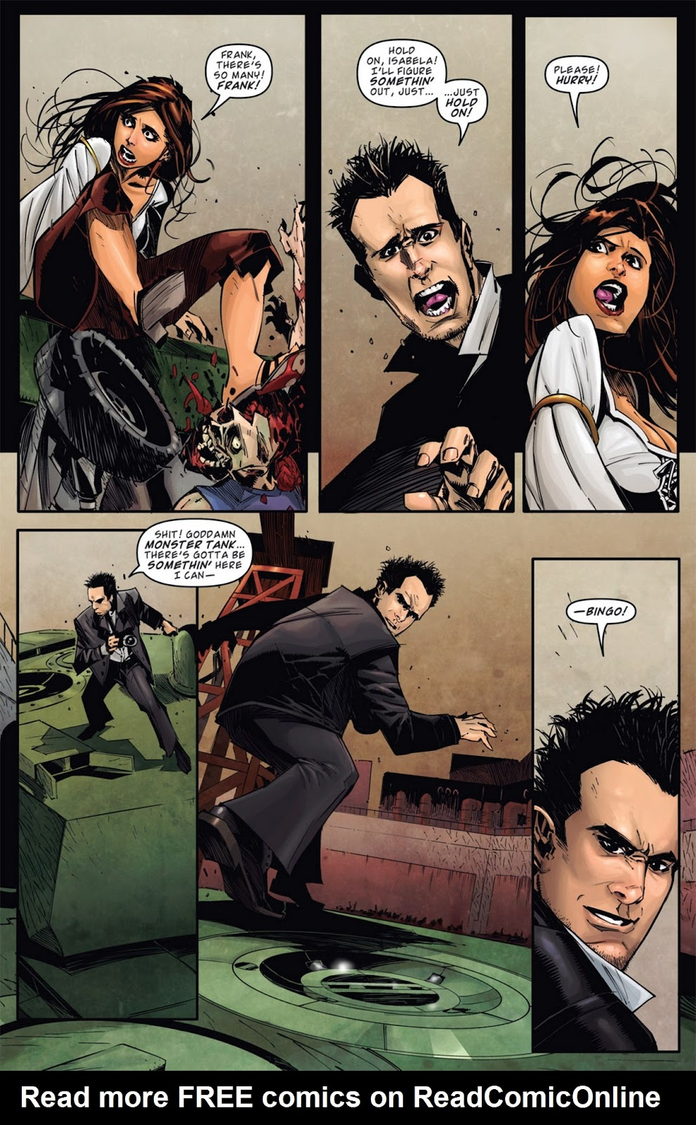 Read online Dead Rising: Road to Fortune comic -  Issue #1 - 6