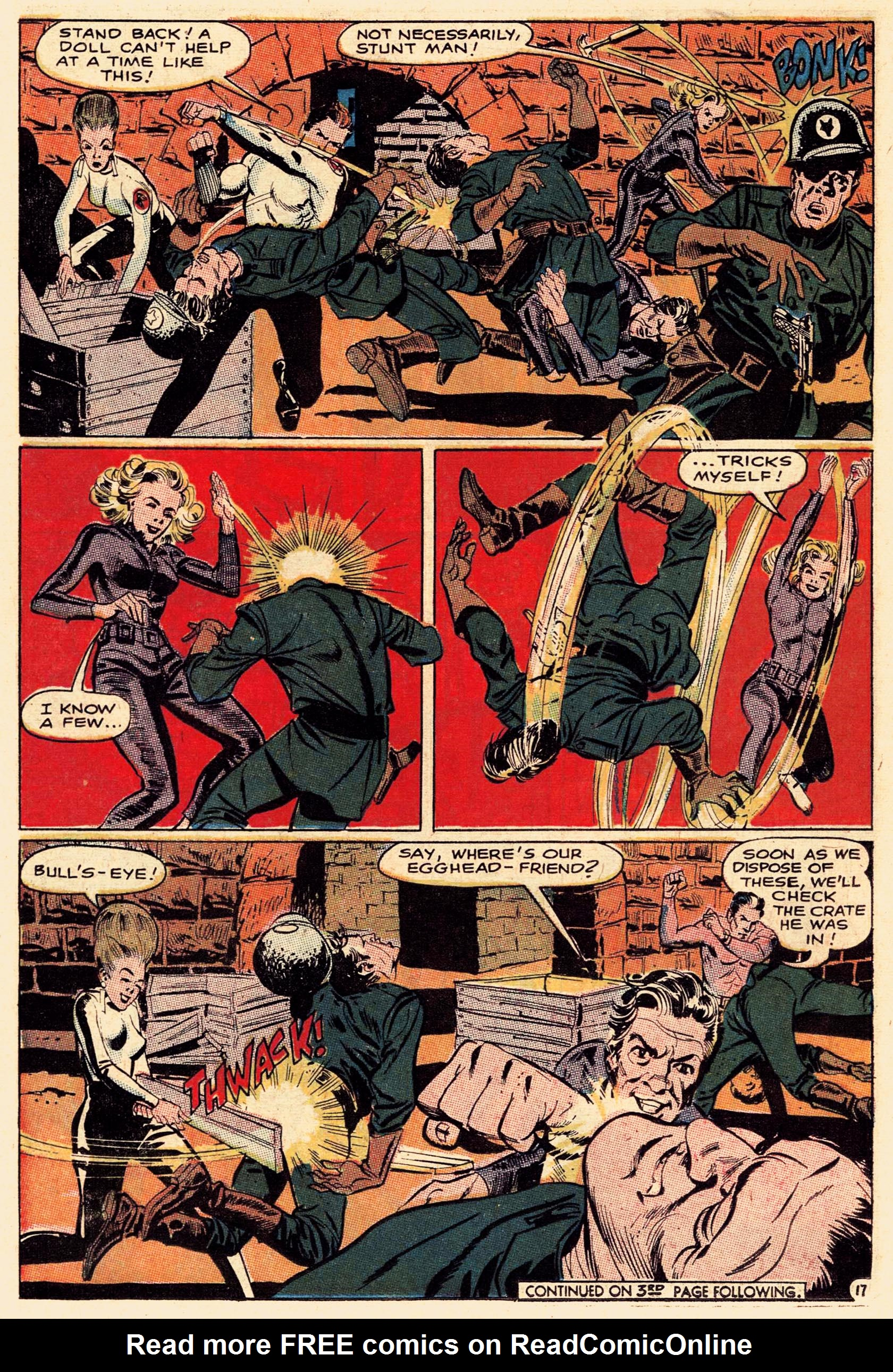 Read online Secret Six (1968) comic -  Issue #1 - 22