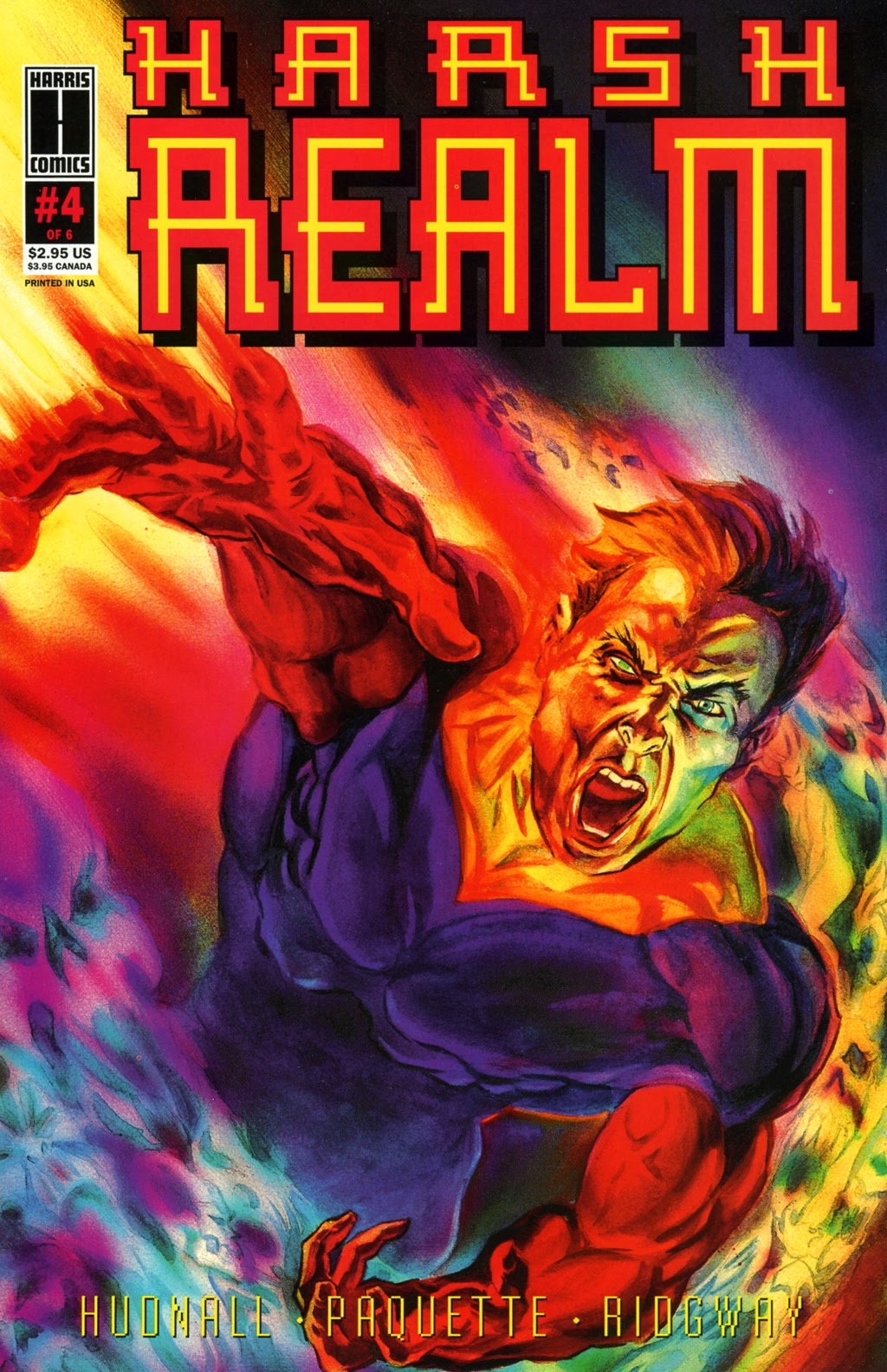 Read online Harsh Realm comic -  Issue #4 - 1