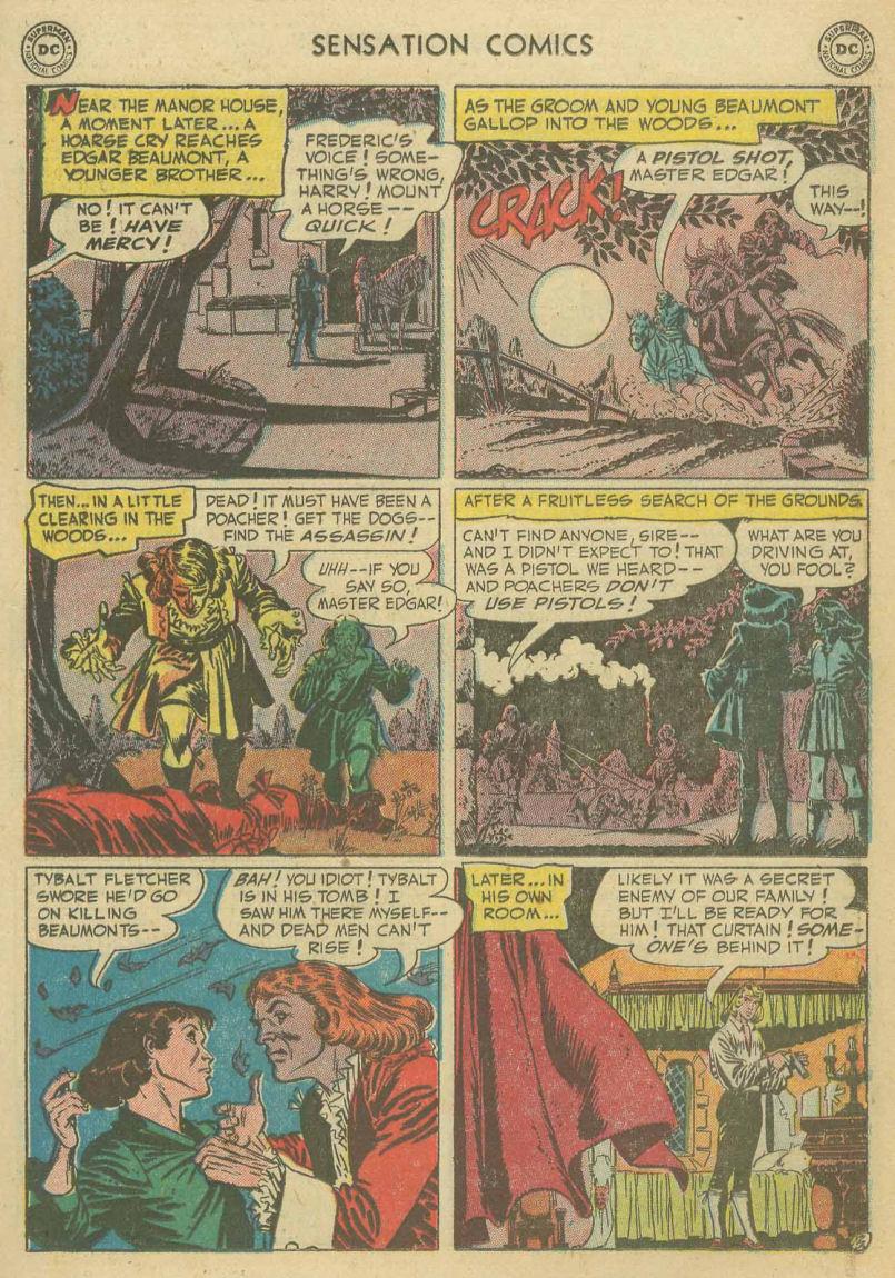 Read online Sensation (Mystery) Comics comic -  Issue #107 - 15