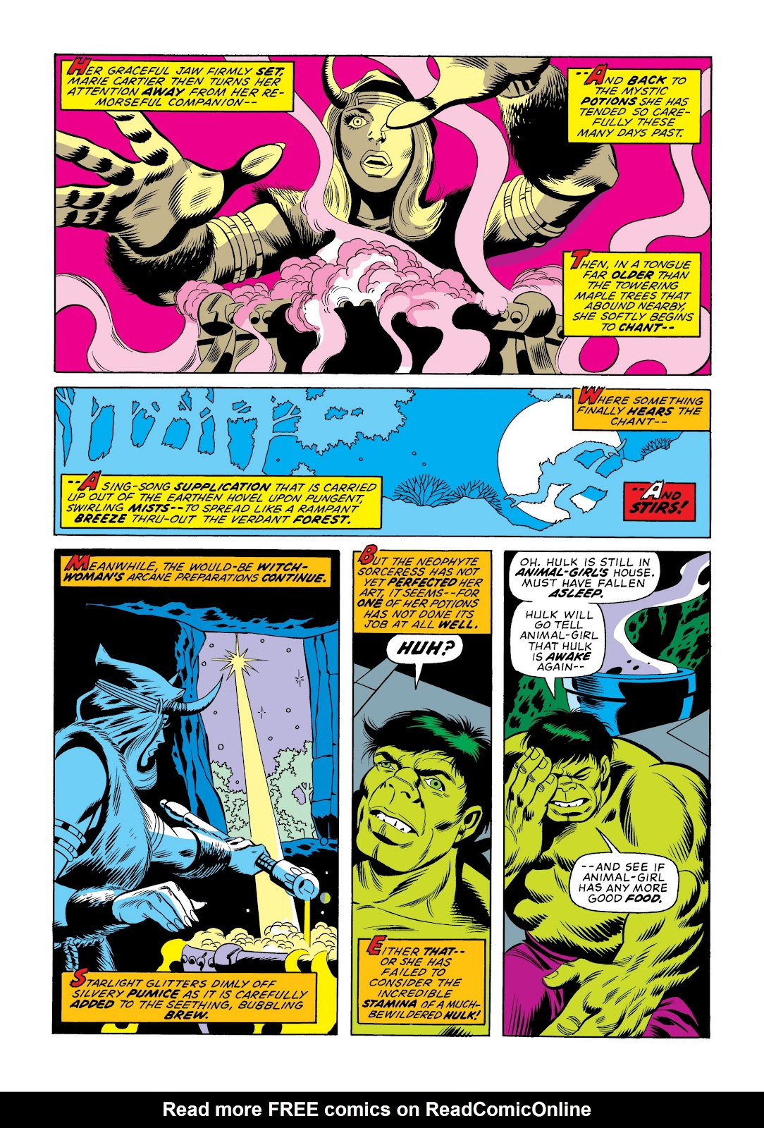 Read online Marvel Masterworks: The Incredible Hulk comic -  Issue # TPB 10 (Part 2) - 97
