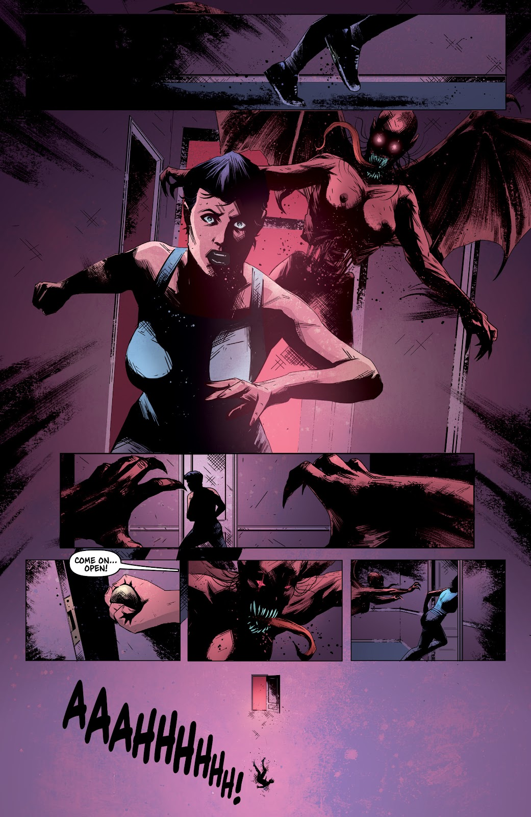 Read online Devil Within comic -  Issue #4 - 8