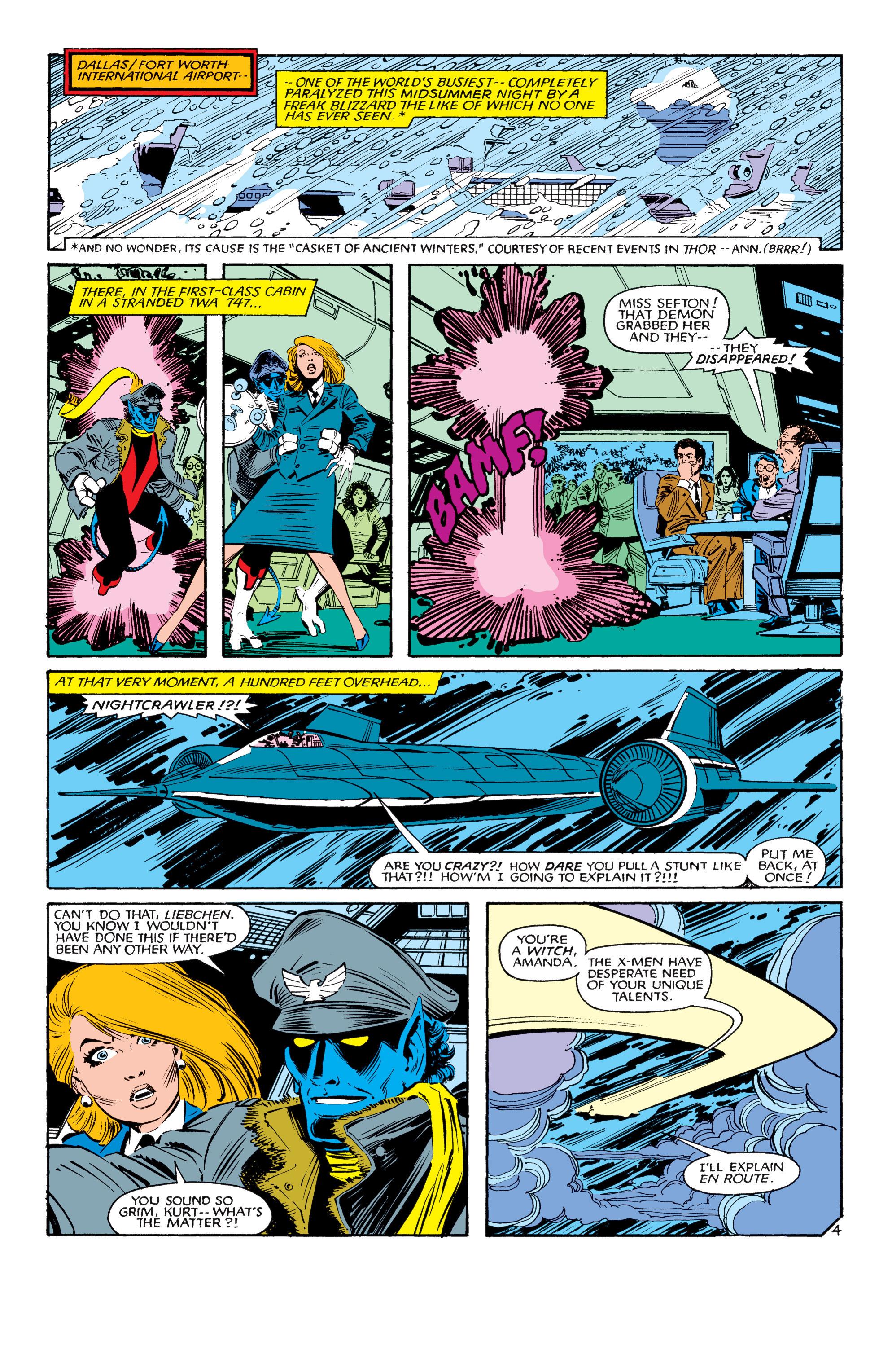 Read online Uncanny X-Men (1963) comic -  Issue #188 - 5