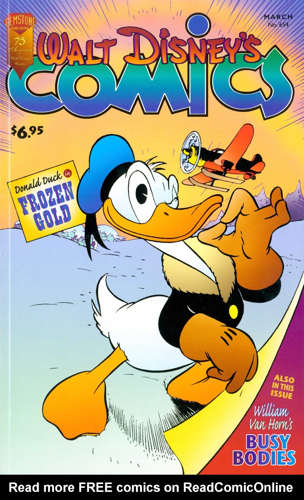 Walt Disney's Comics and Stories issue 654 - Page 1
