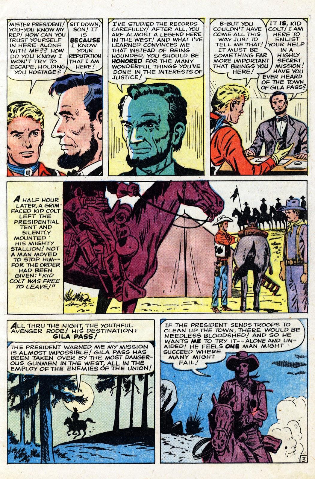 Gunsmoke Western issue 61 - Page 5