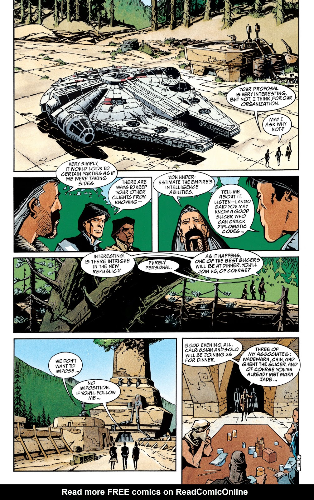 Read online Star Wars Legends: The New Republic - Epic Collection comic -  Issue # TPB 4 (Part 1) - 91