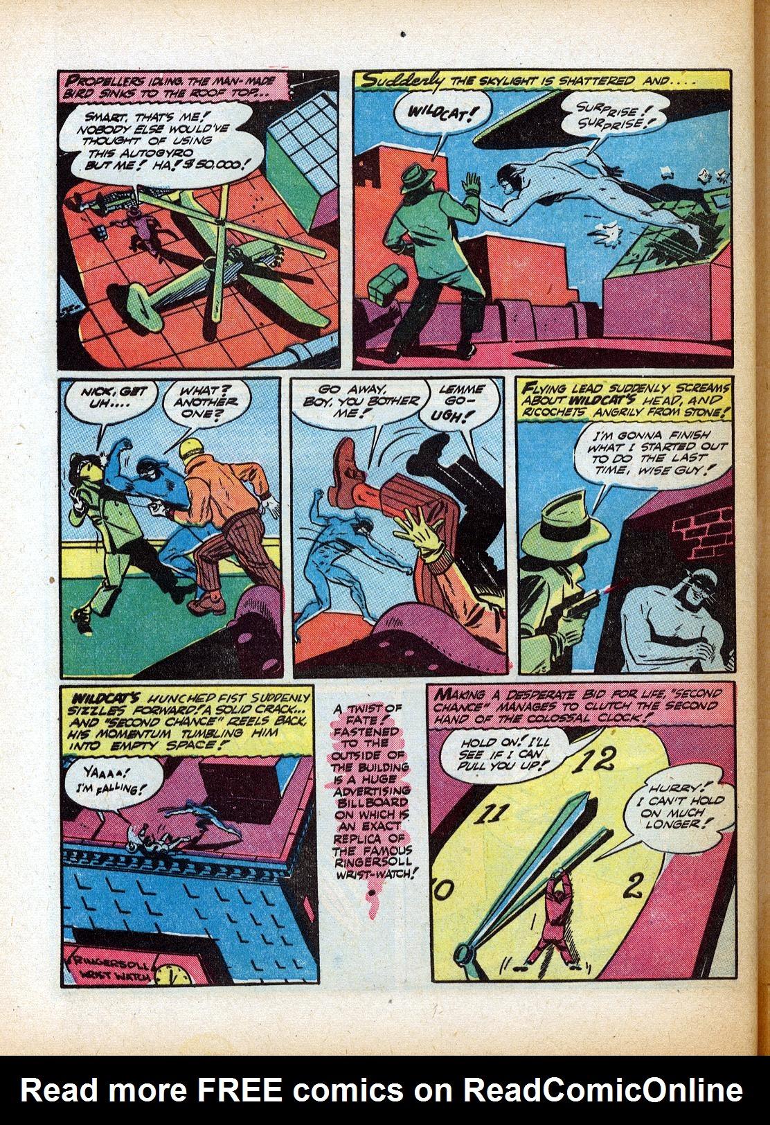 Read online Sensation (Mystery) Comics comic -  Issue #18 - 56