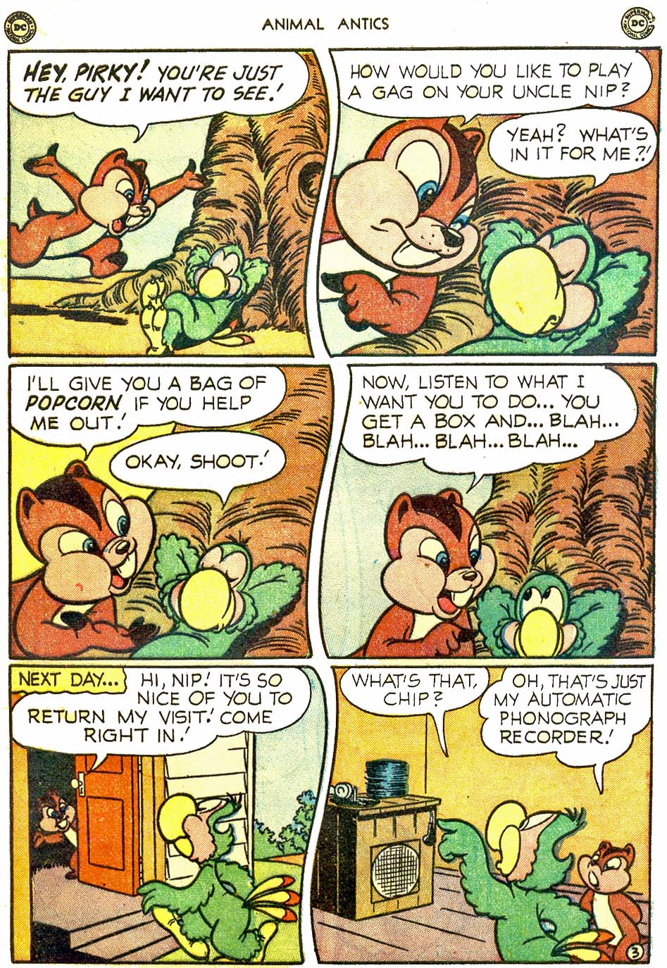 Read online Animal Antics comic -  Issue #28 - 43