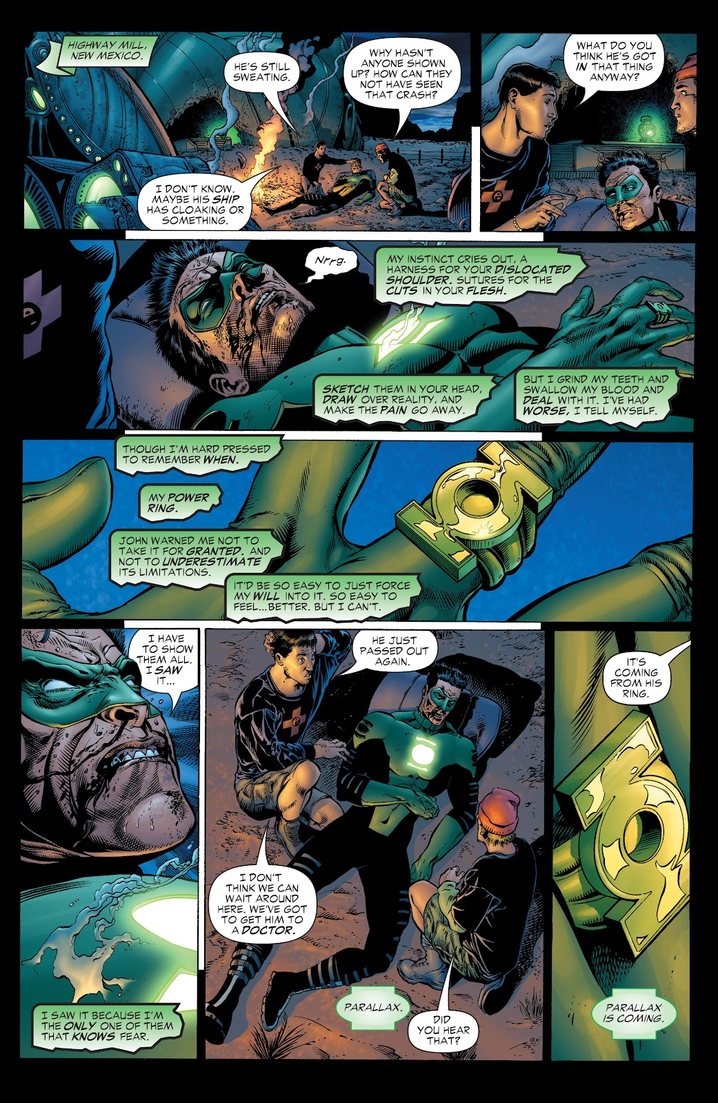 Read online Green Lantern by Geoff Johns comic -  Issue # TPB 1 (Part 1) - 45