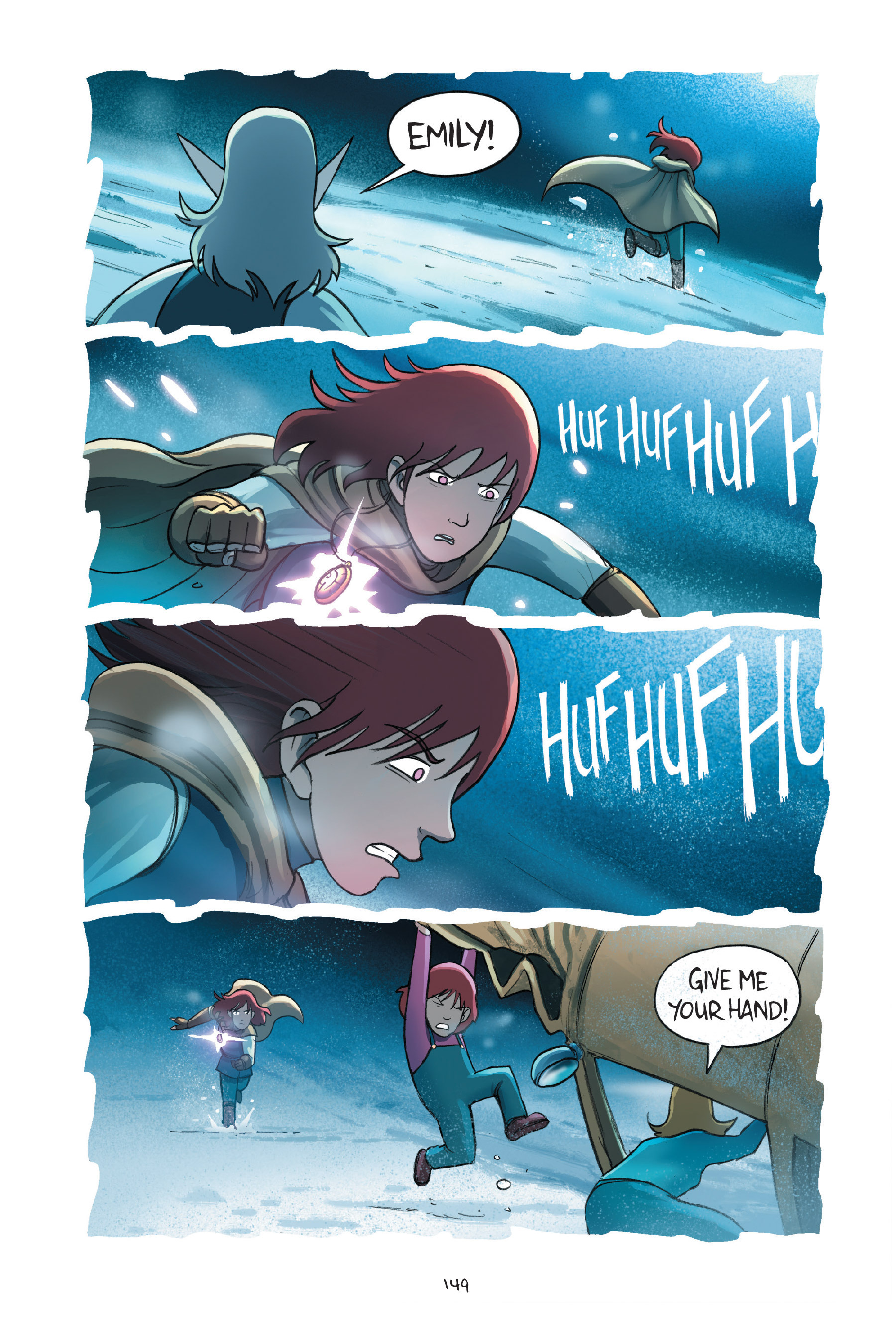Read online Amulet comic -  Issue #7 - 149