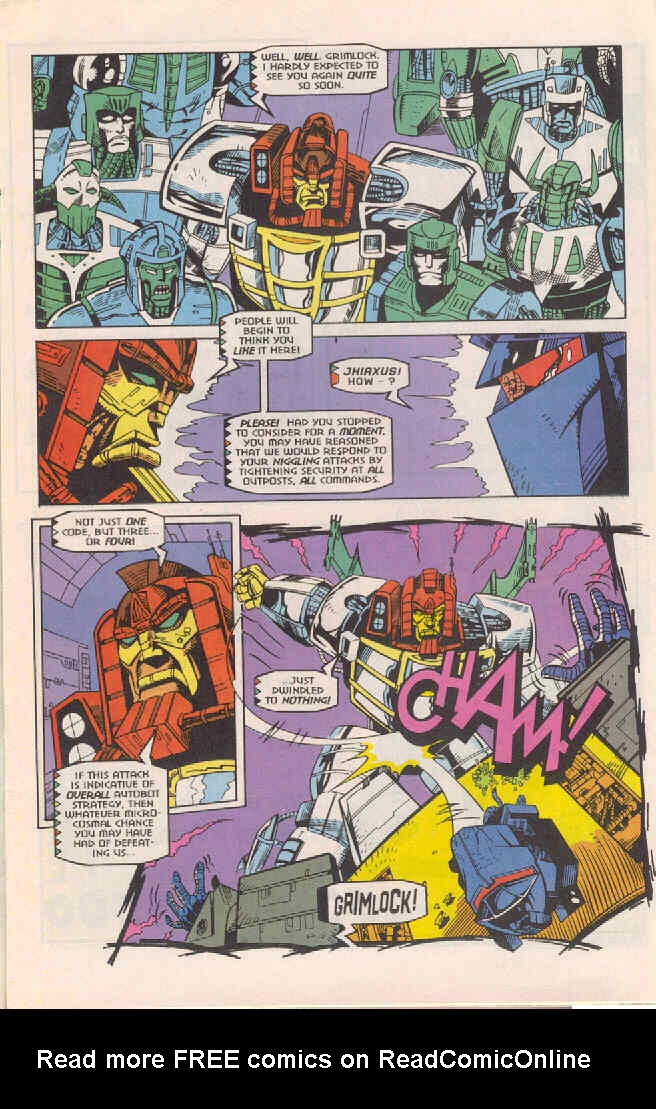 Read online Transformers: Generation 2 comic -  Issue #4 - 11