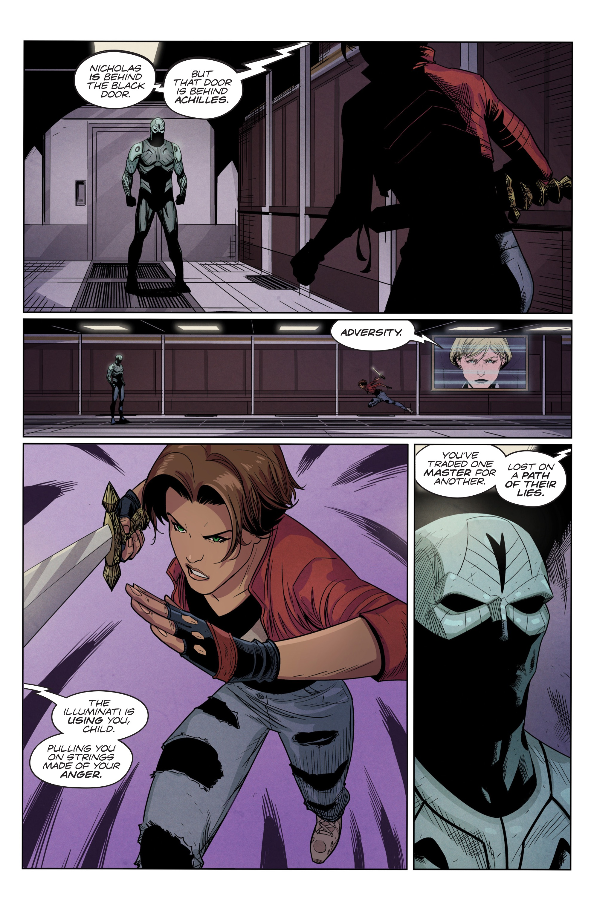 Read online Romulus comic -  Issue #4 - 6