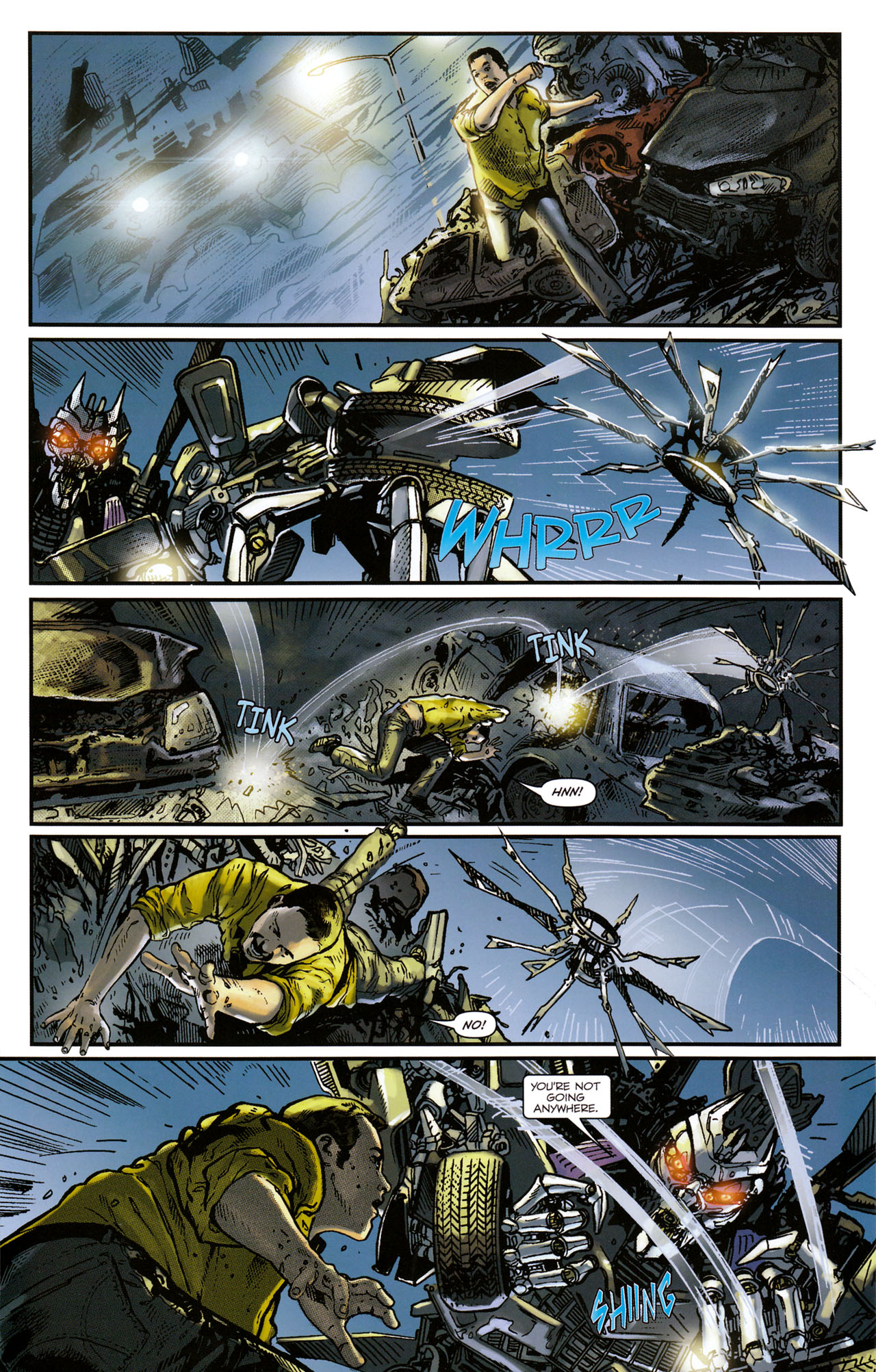 Read online Transformers: Tales of The Fallen comic -  Issue #1 - 16