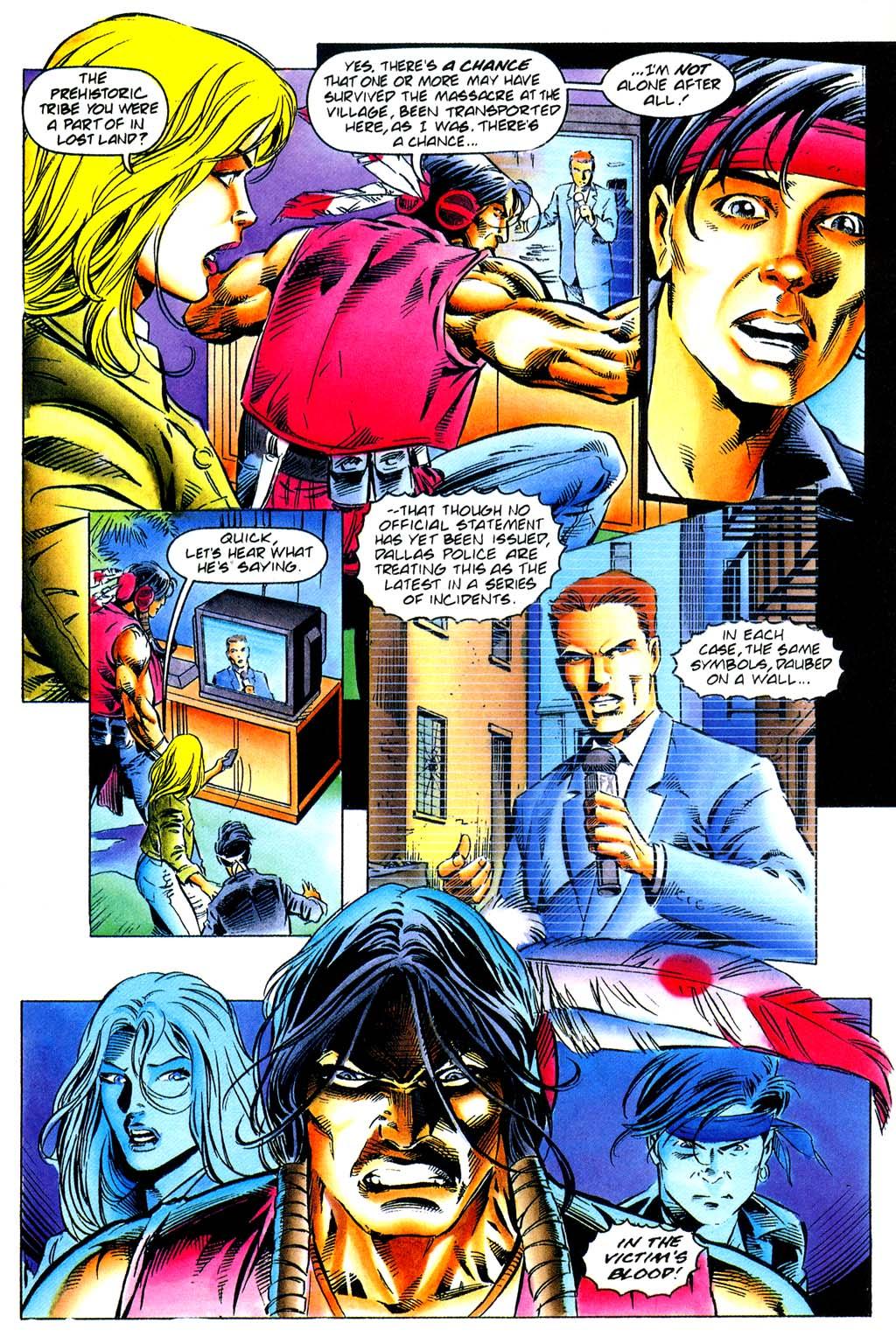 Read online Turok, Dinosaur Hunter (1993) comic -  Issue #29 - 6