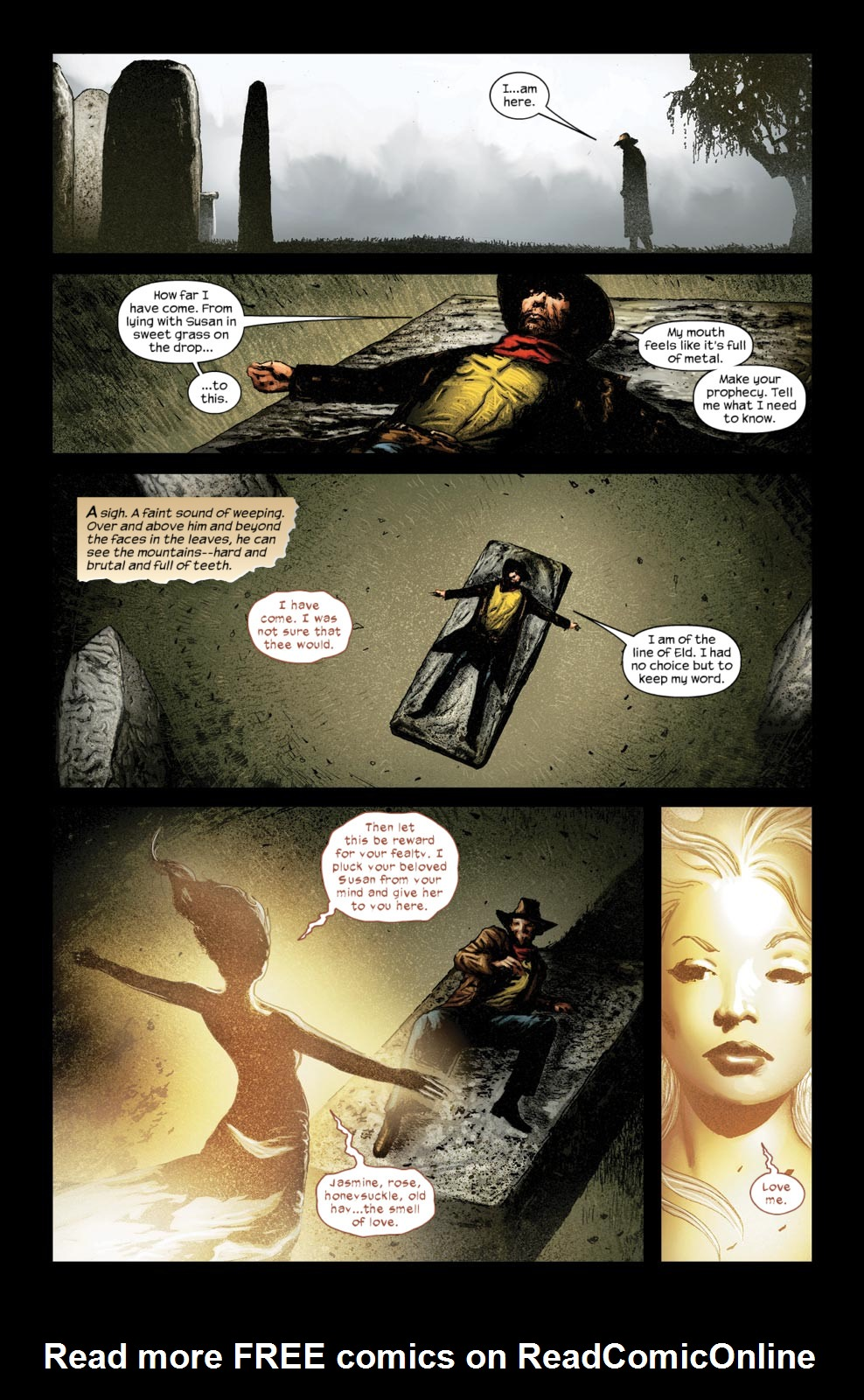 Read online Dark Tower: The Gunslinger - The Way Station comic -  Issue #5 - 11