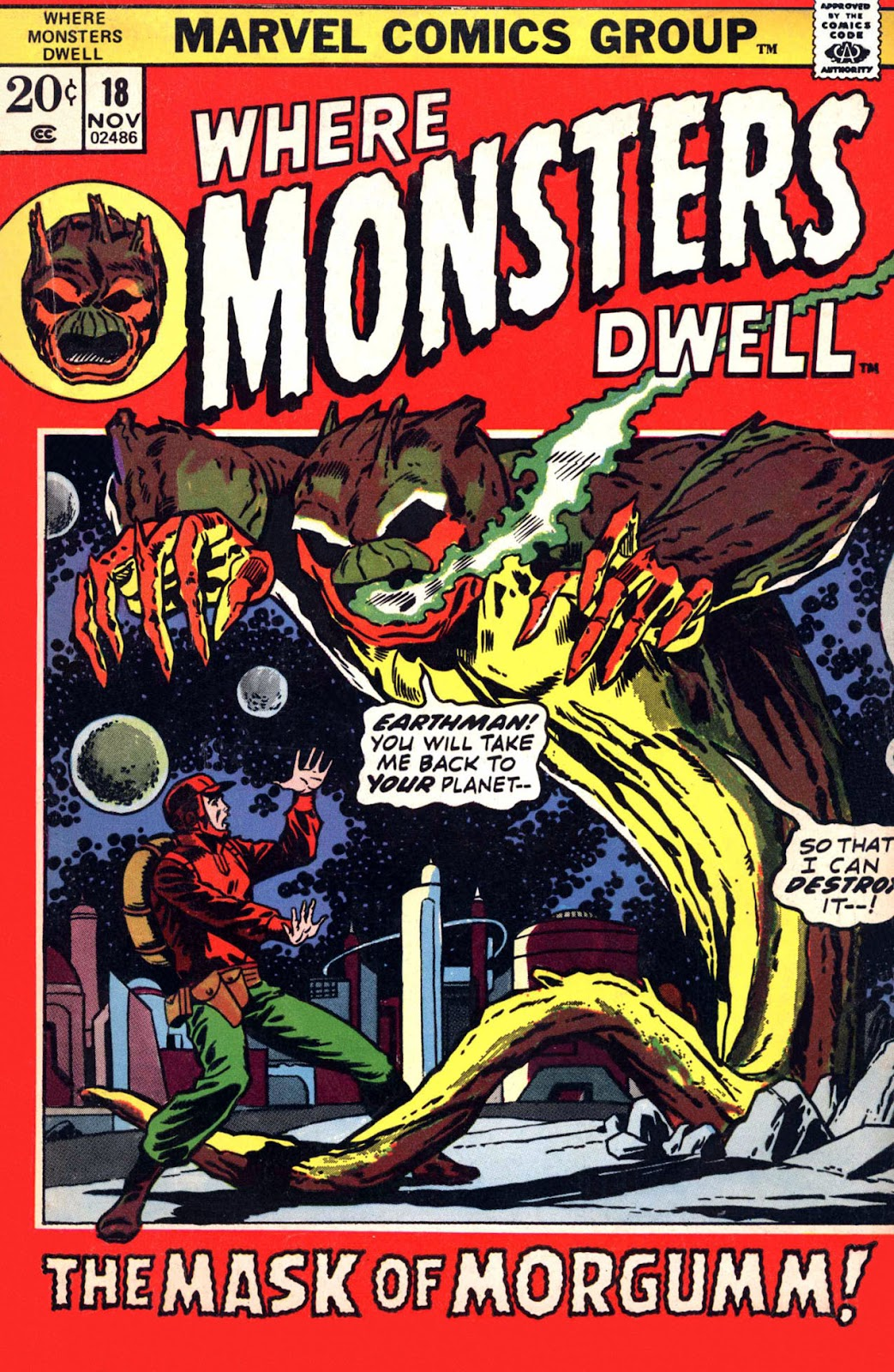 Where Monsters Dwell (1970) issue 18 - Page 1