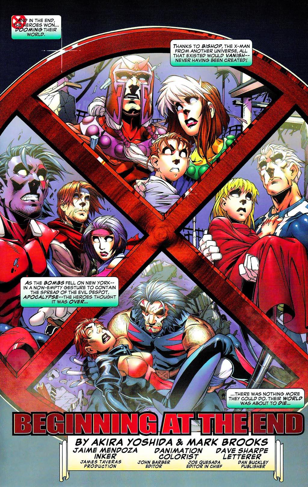 Read online Age of Apocalypse (2005) comic -  Issue #0 - 25
