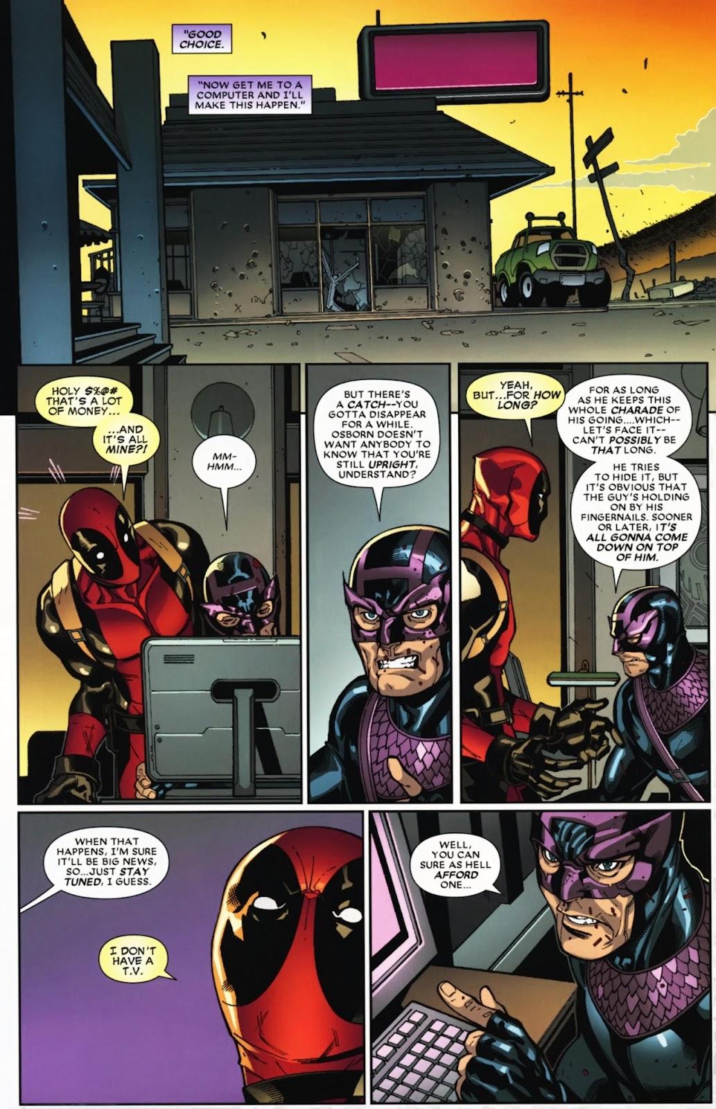Read online Deadpool (2008) comic -  Issue #12 - 21