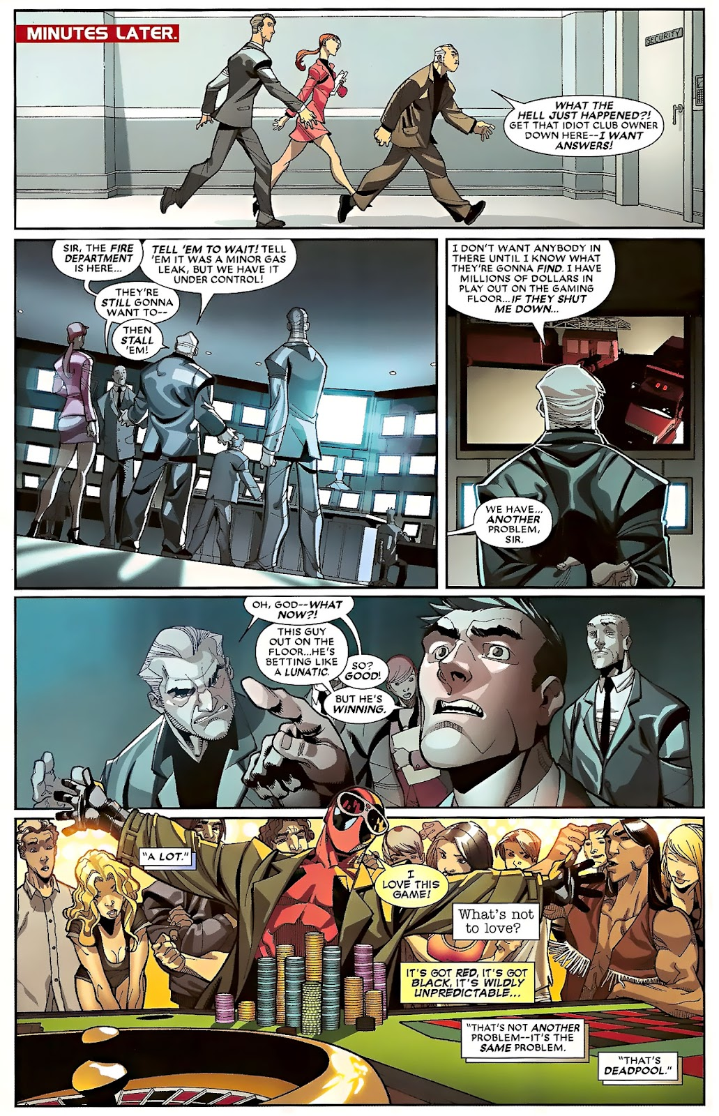 Read online Deadpool (2008) comic -  Issue #23 - 10