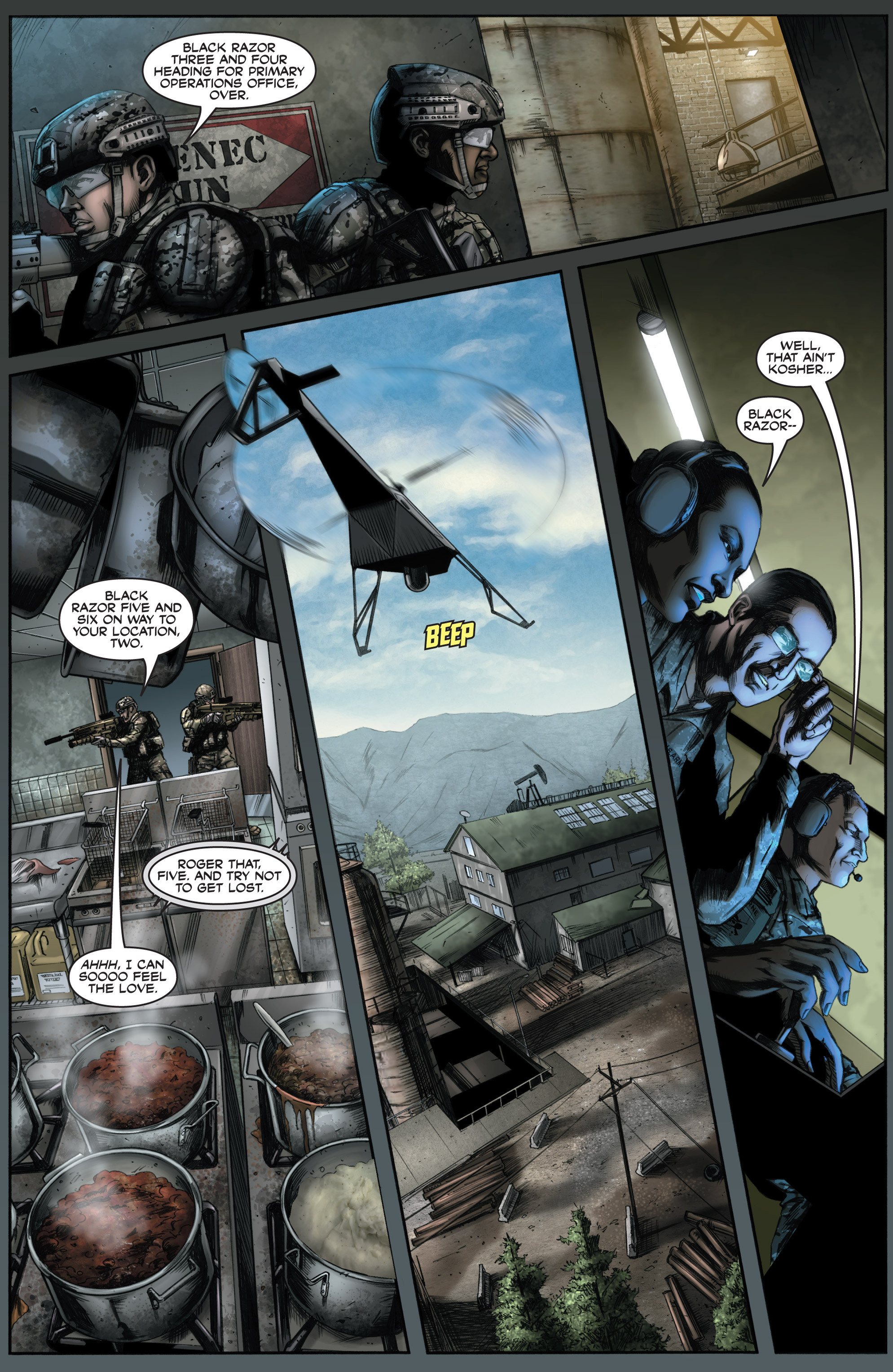 Read online America's Army comic -  Issue #8 - 18